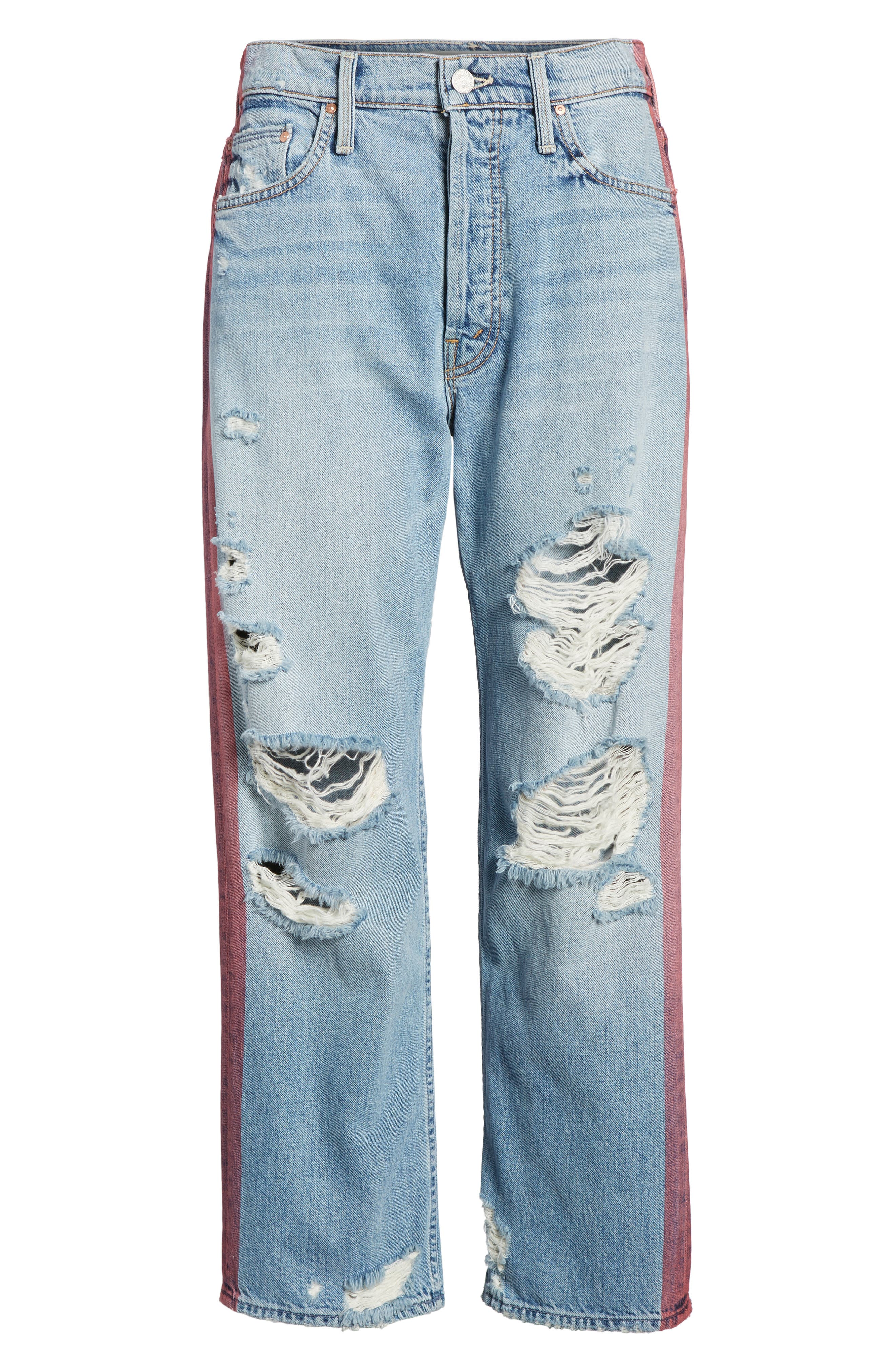 The Thrasher Crop Twill Pants,                             Alternate thumbnail 7, color,