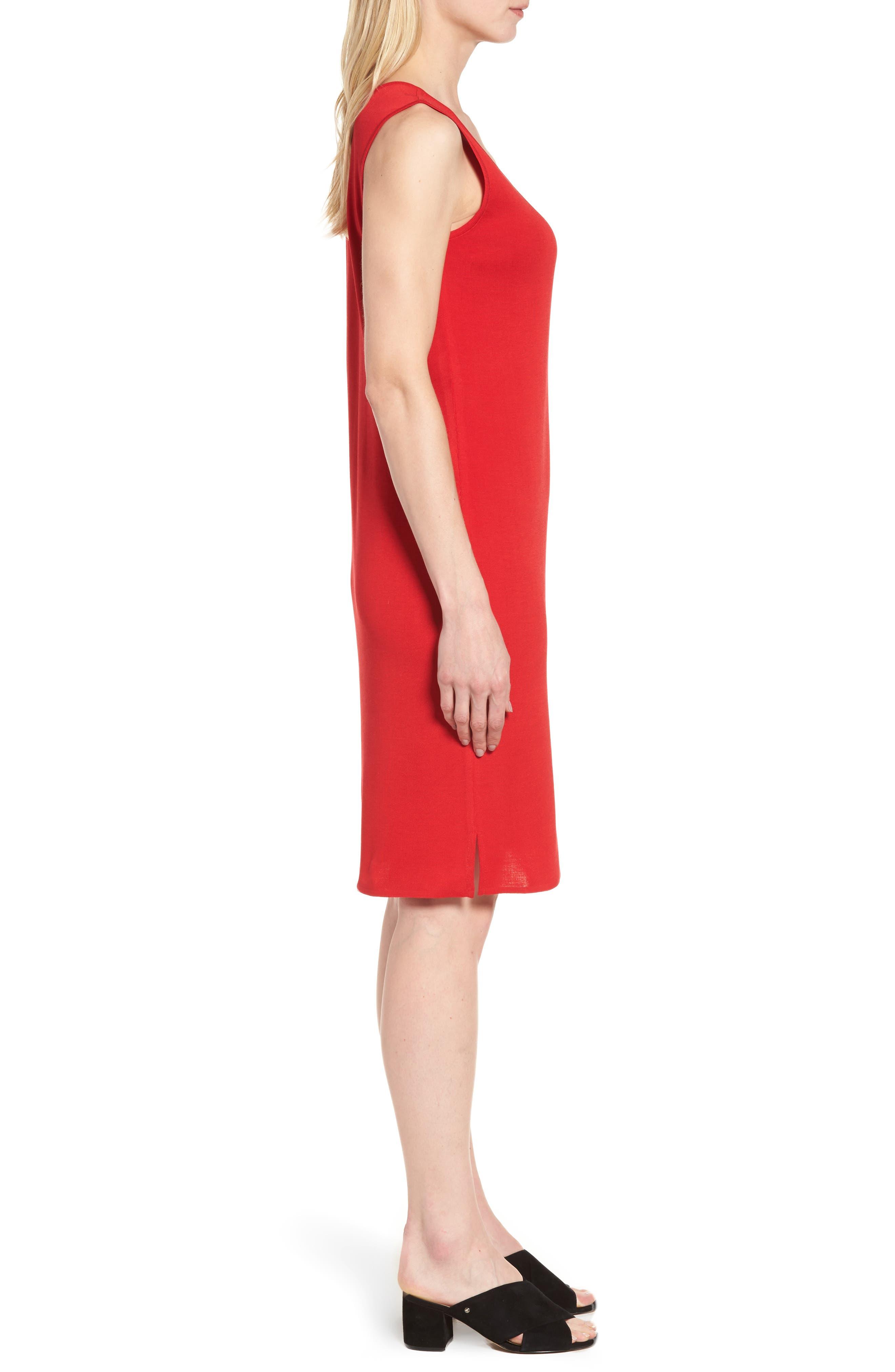 Knit Sheath Dress,                             Alternate thumbnail 3, color,                             608