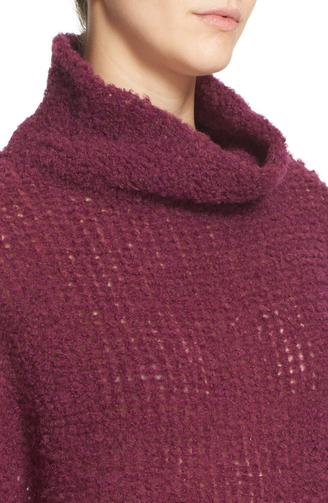 'She's All That' Knit Turtleneck Sweater,                             Alternate thumbnail 19, color,