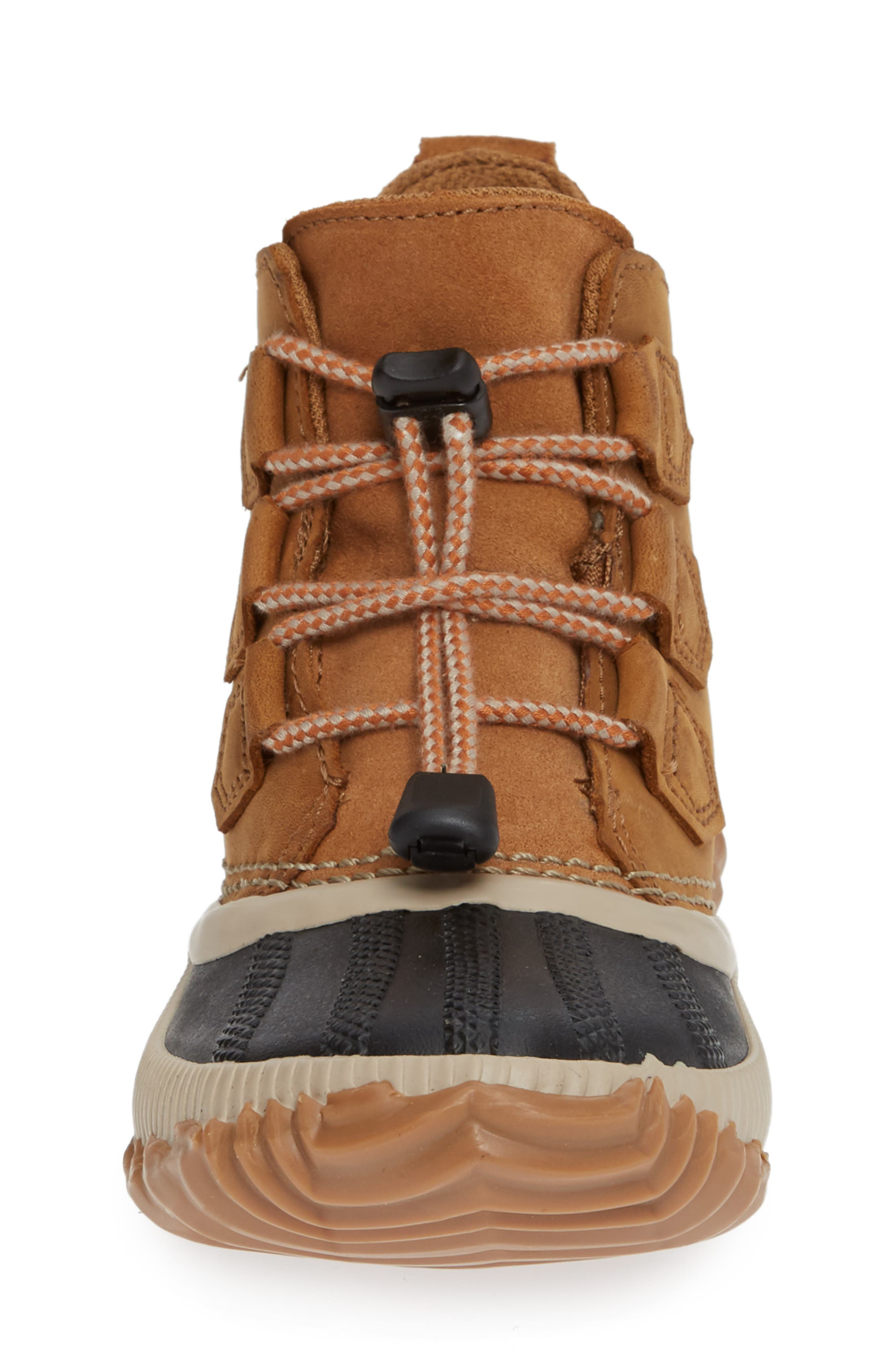 Out N About Plus Waterproof Boot,                             Alternate thumbnail 4, color,                             ELK/ BLACK