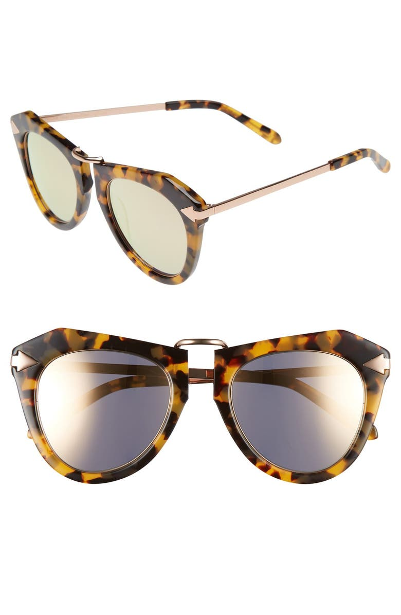 3142168c66 Karen Walker  One Orbit - Superstars  Mirrored Lens Sunglasses ...