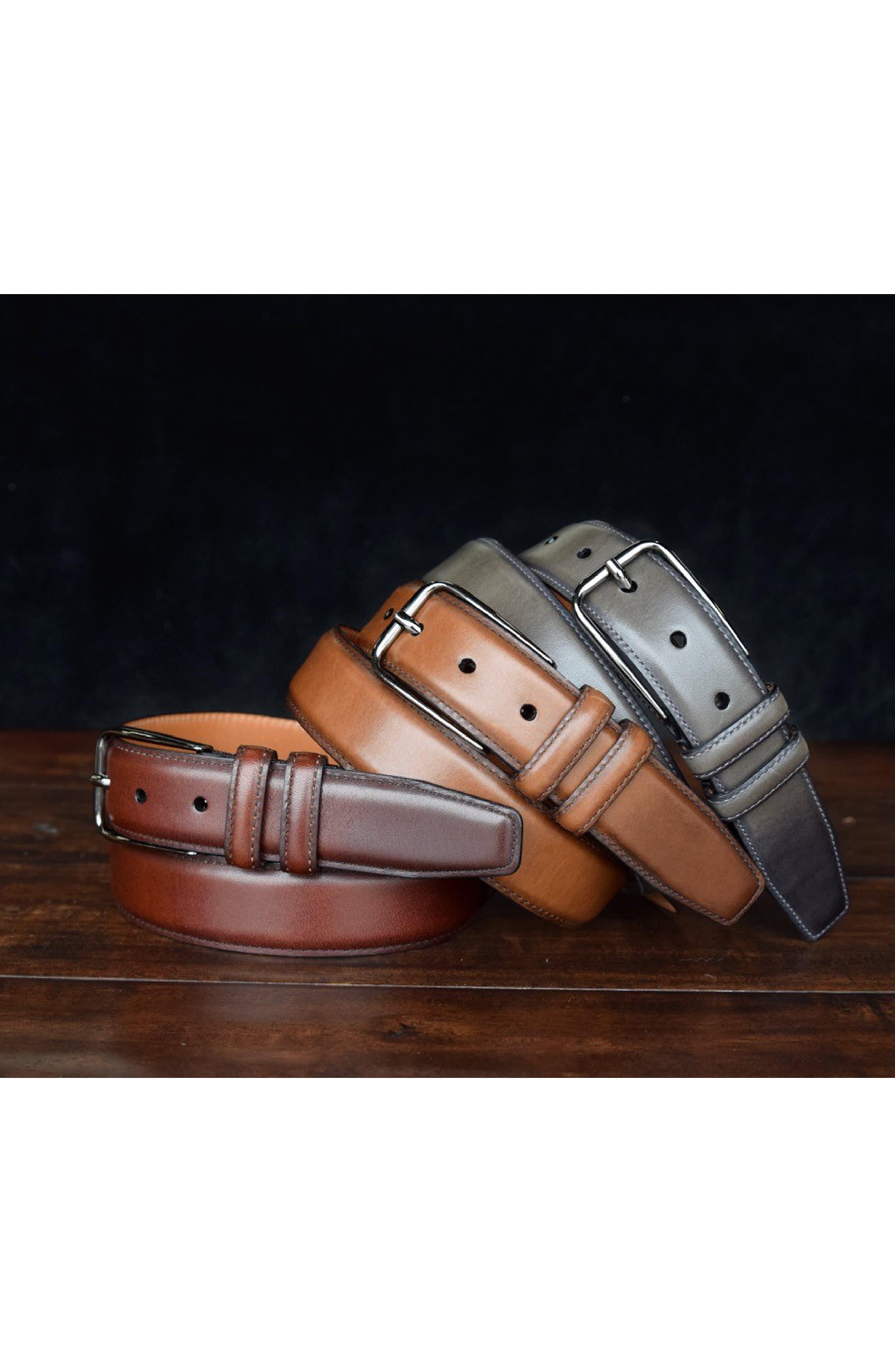 Parker Leather Belt,                             Alternate thumbnail 11, color,