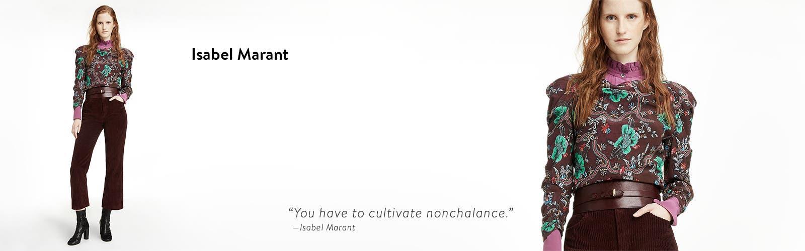 Isabel Marant.