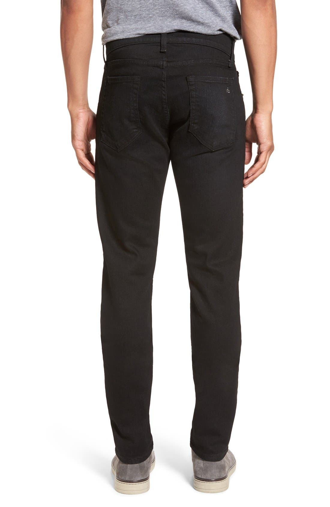 Standard Issue 'Fit 2' Slim Fit Jeans,                             Alternate thumbnail 3, color,                             001
