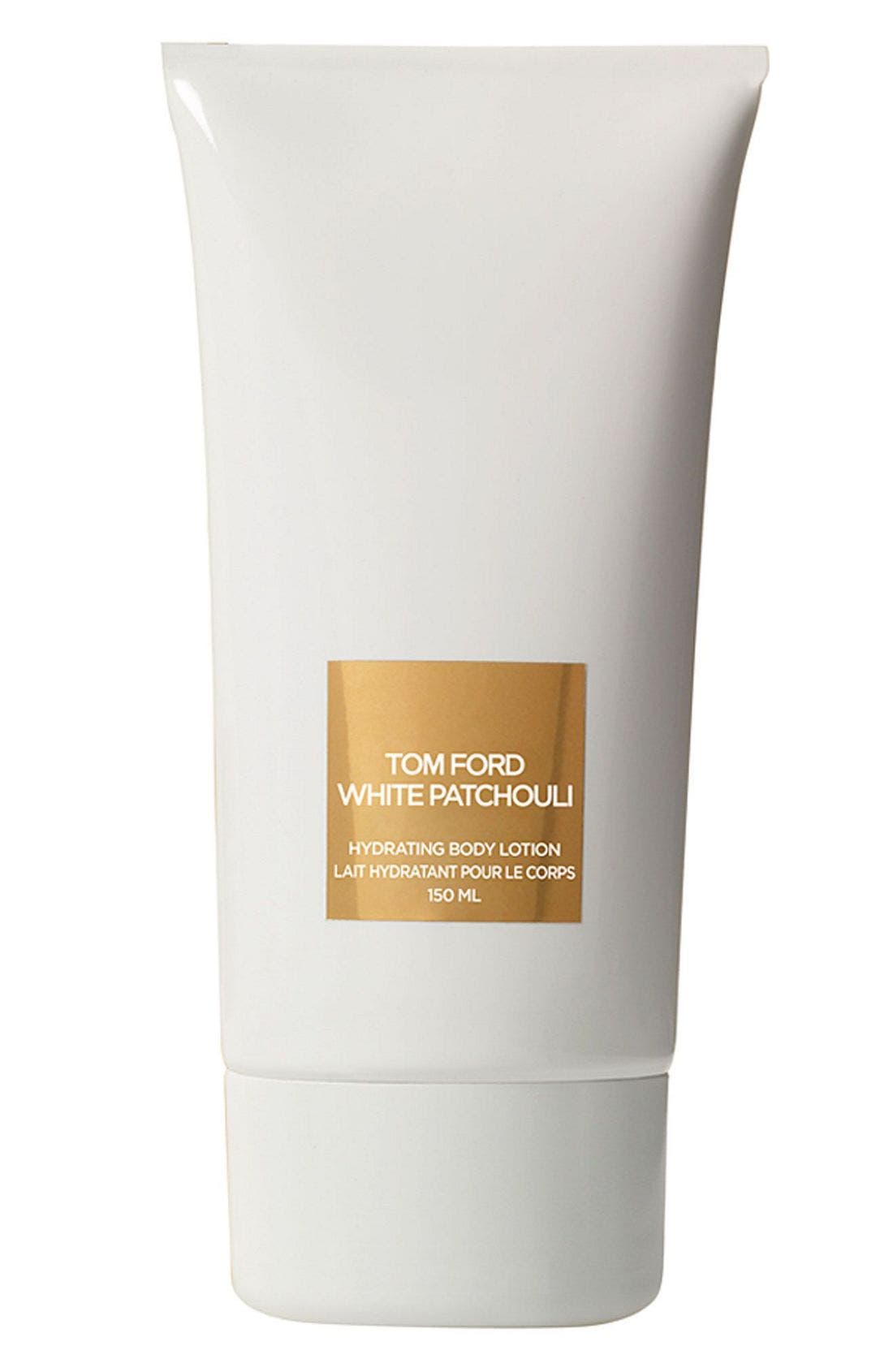'White Patchouli' Hydrating Body Lotion,                             Main thumbnail 1, color,                             000
