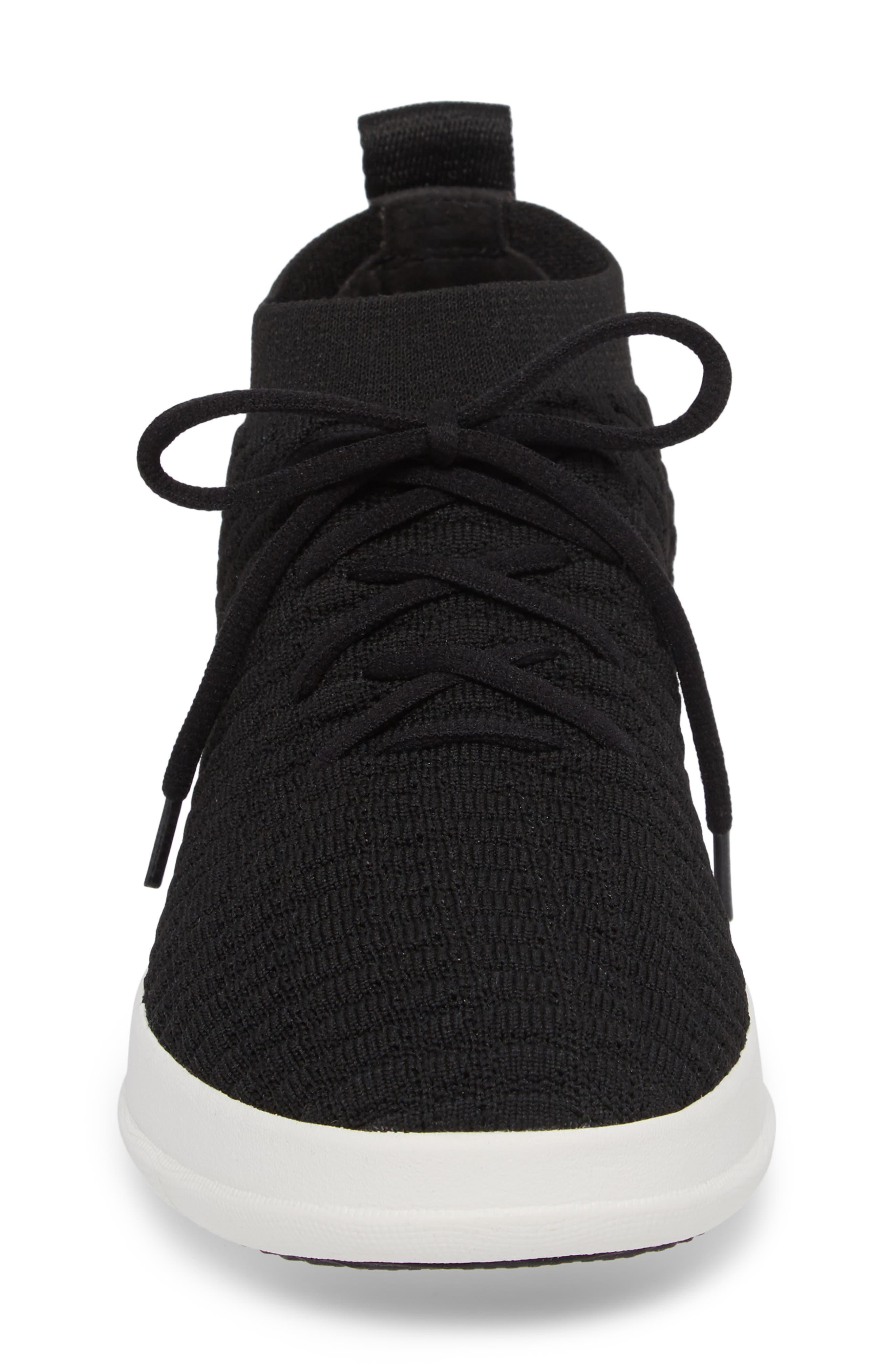 Uberknit<sup>™</sup> Slip-On High Top Sneaker,                             Alternate thumbnail 4, color,                             001