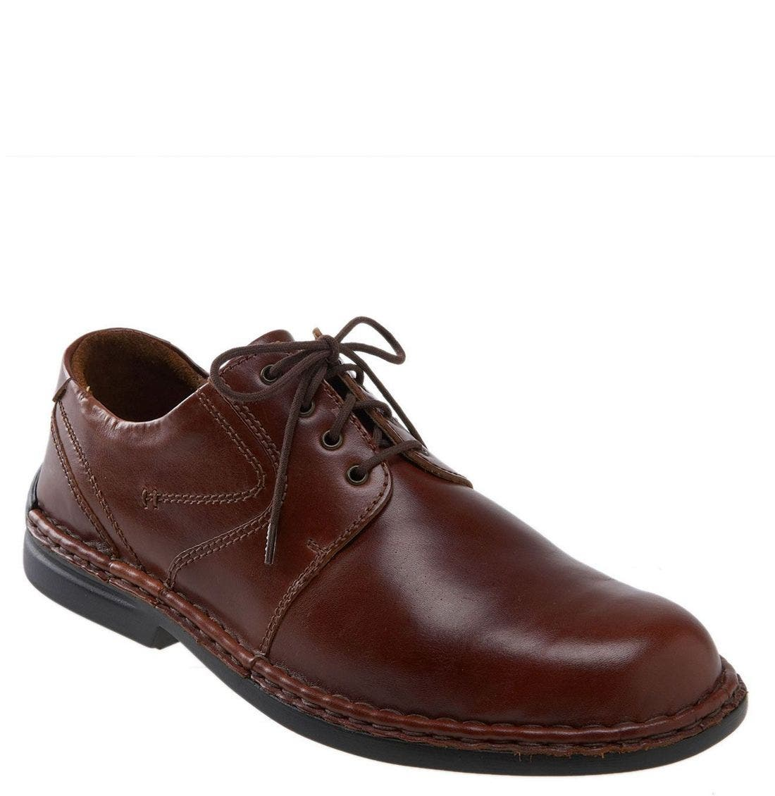JOSEF SEIBEL 'Walt' Casual Oxford, Main, color, ROMA BRANDY
