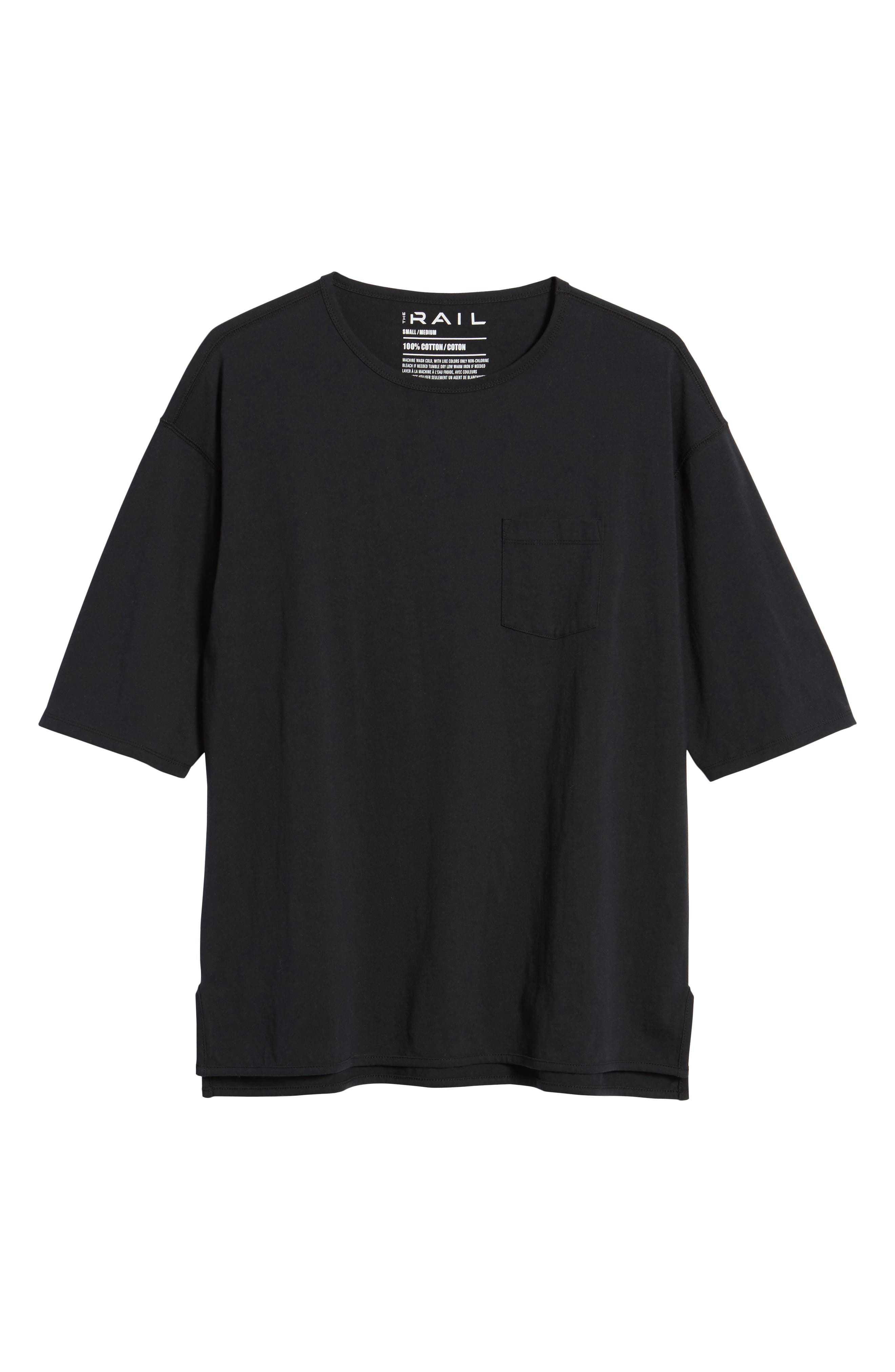 Oversized T-Shirt,                             Alternate thumbnail 6, color,