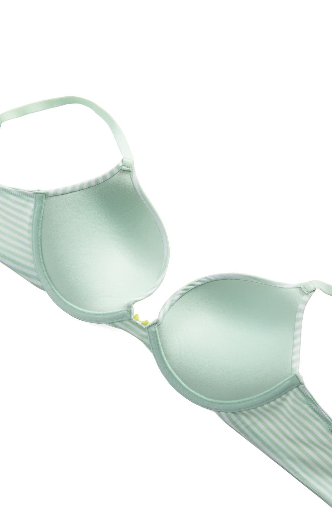 Forever Perfect Convertible Underwire Push-Up Bra,                             Alternate thumbnail 26, color,