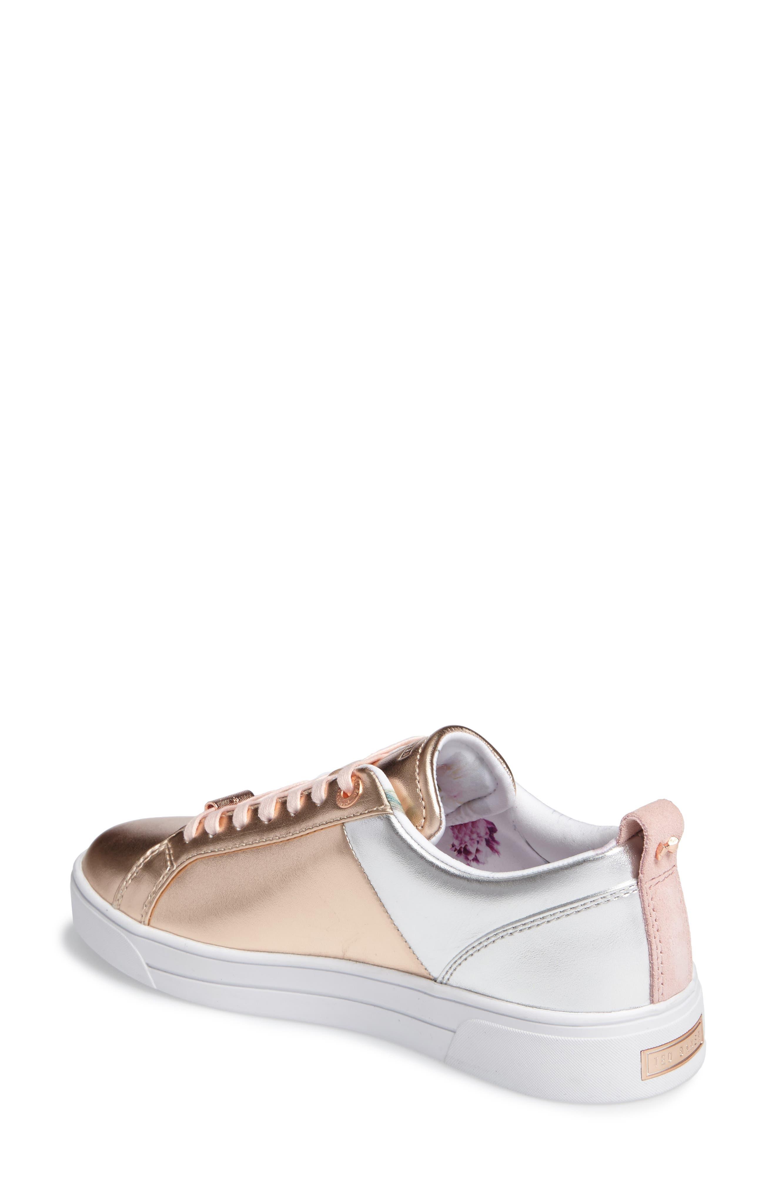 Kulei Lace-Up Sneaker,                             Alternate thumbnail 4, color,