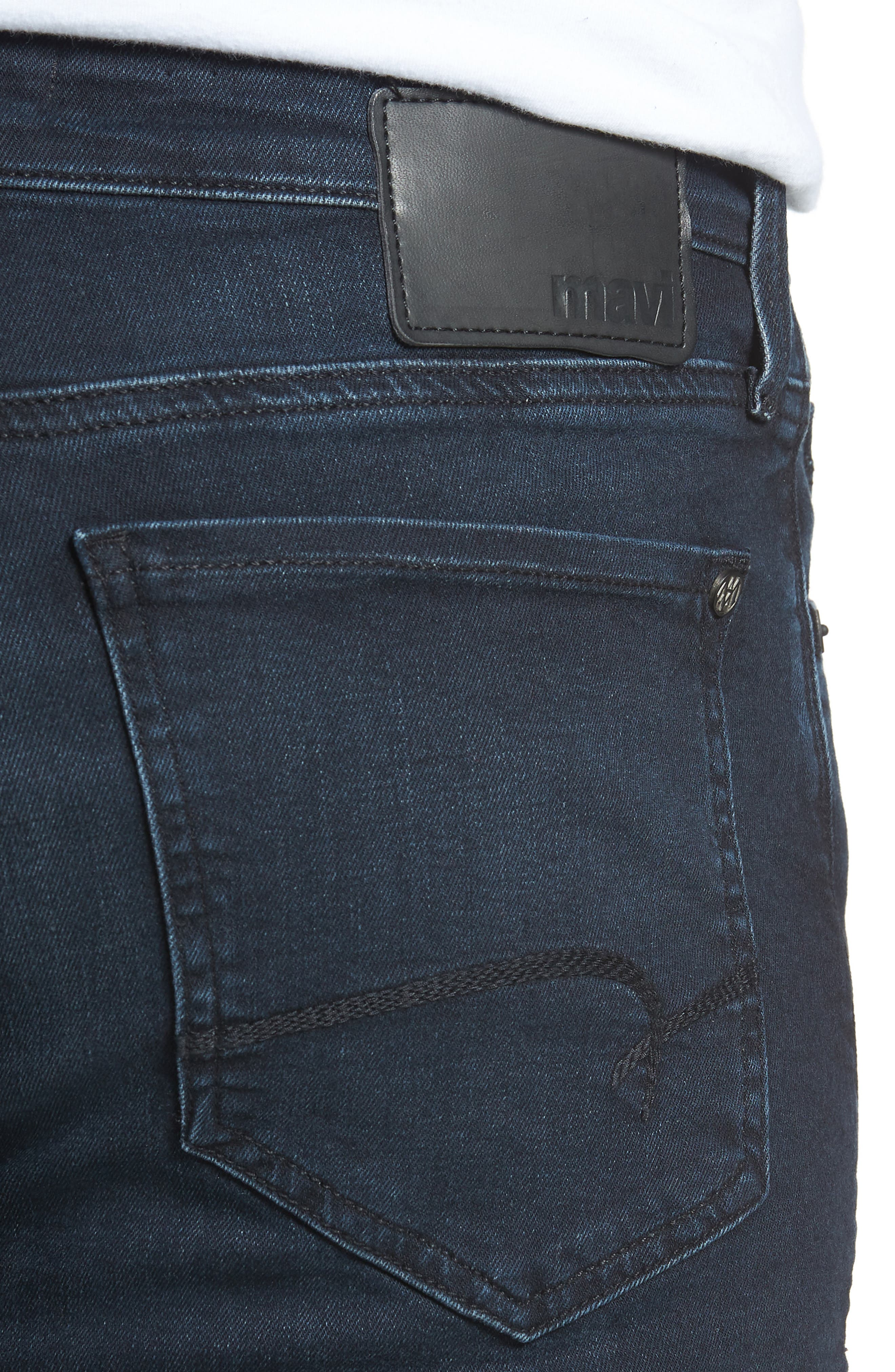 Matt Relaxed Fit Jeans,                             Alternate thumbnail 4, color,                             INK BRUSHED WILLIAMSBURG