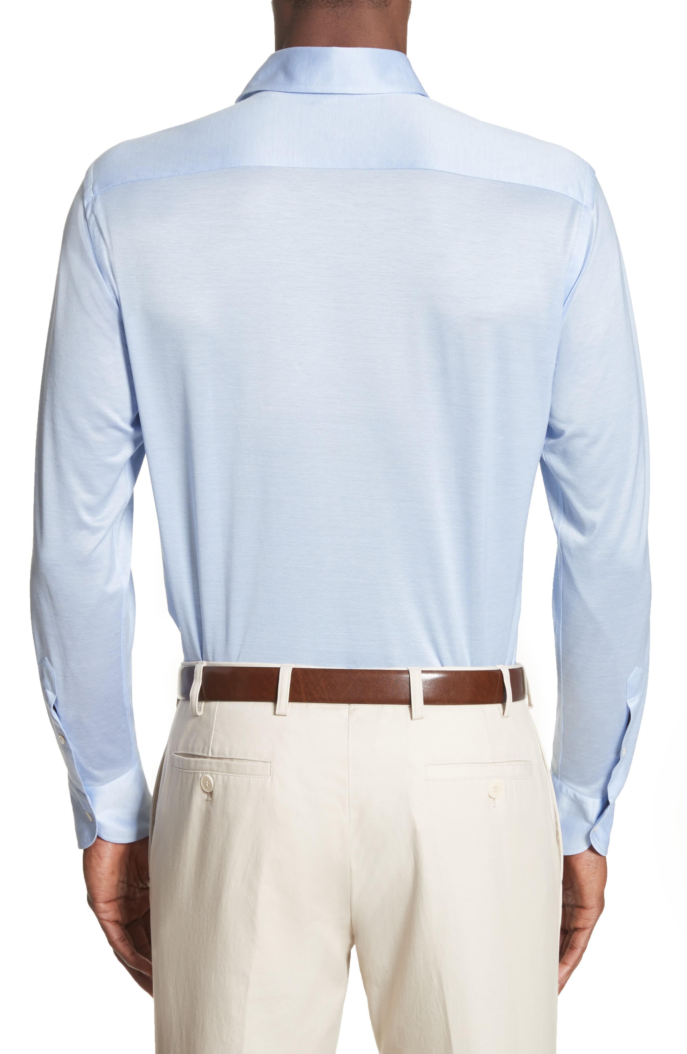 Slim Fit Solid Sport Shirt,                             Alternate thumbnail 2, color,                             450