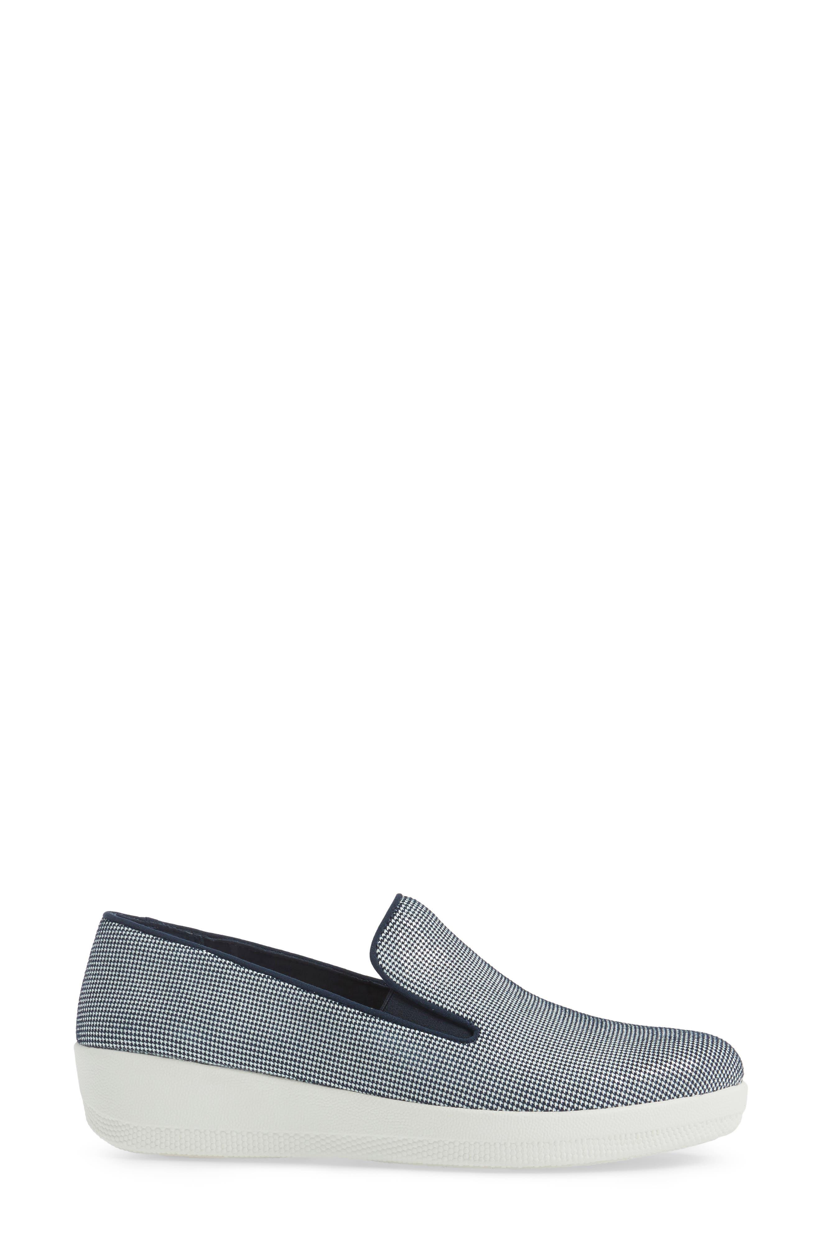 Houndstooth Superskate Sneaker,                             Alternate thumbnail 11, color,