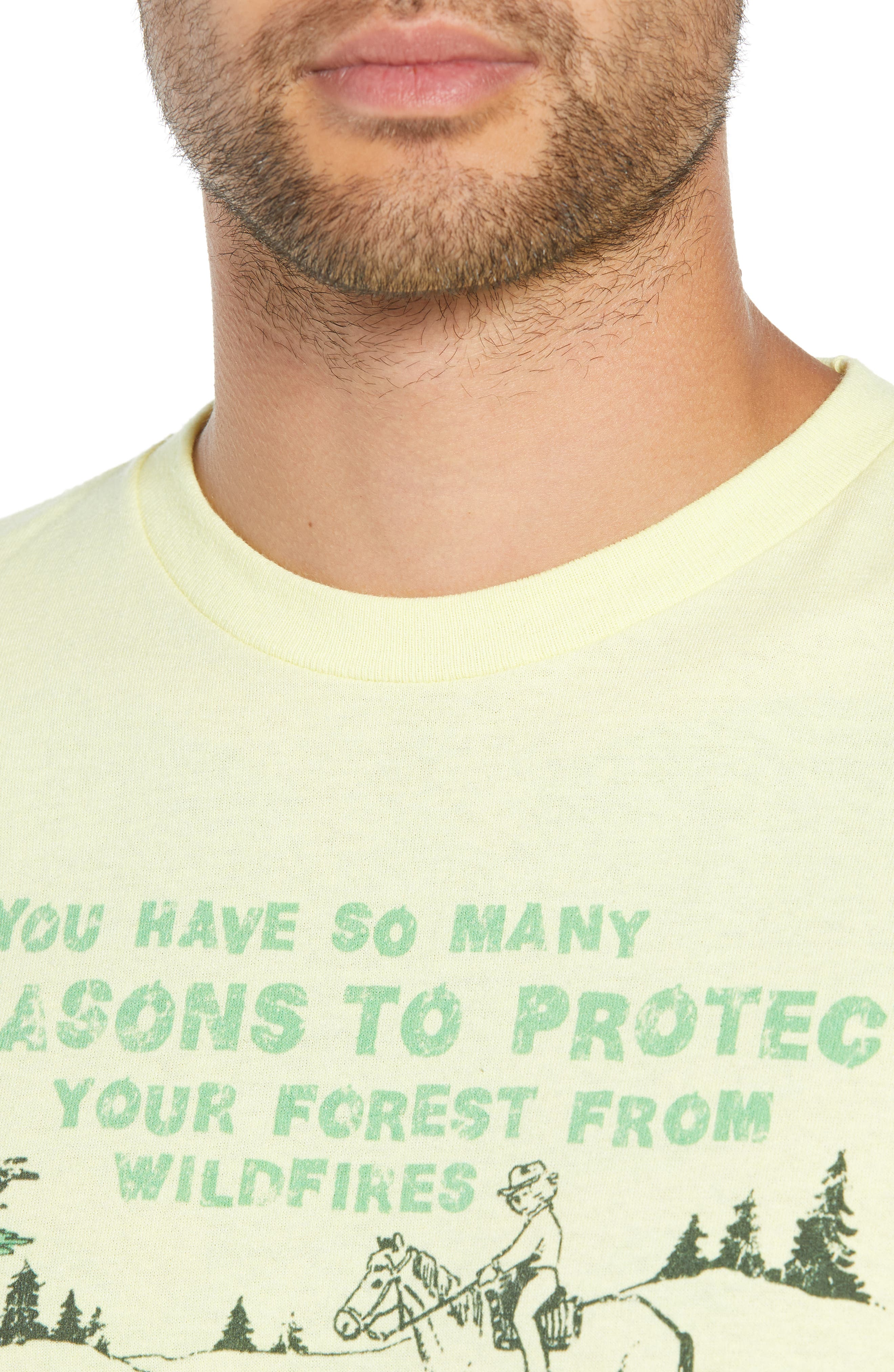 Protect Your Forest Graphic T-Shirt,                             Alternate thumbnail 4, color,                             720