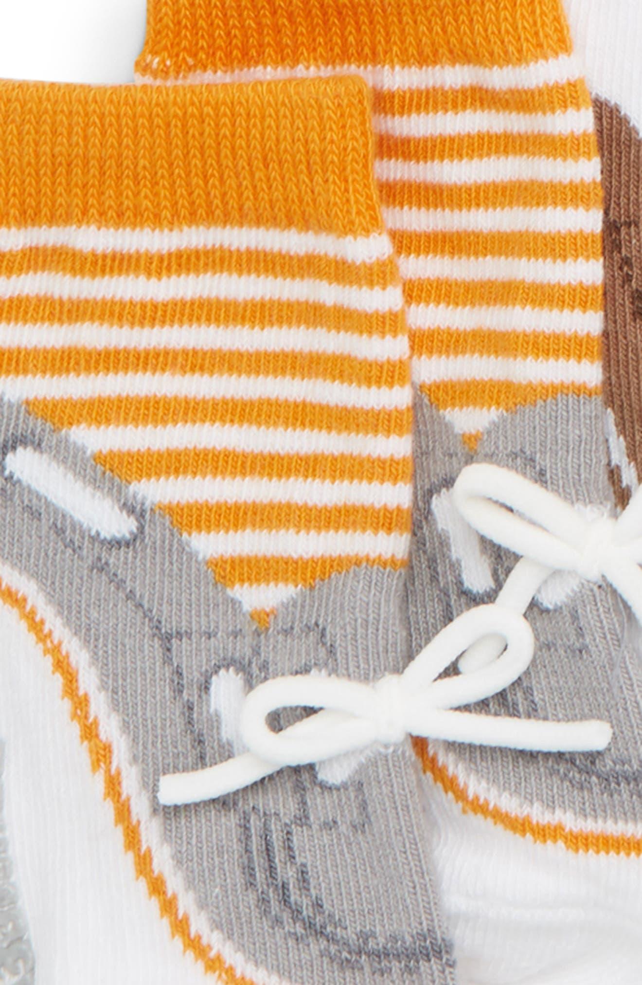 Noah 6-Pack Socks,                             Alternate thumbnail 3, color,                             ASSORTED NEUTRAL