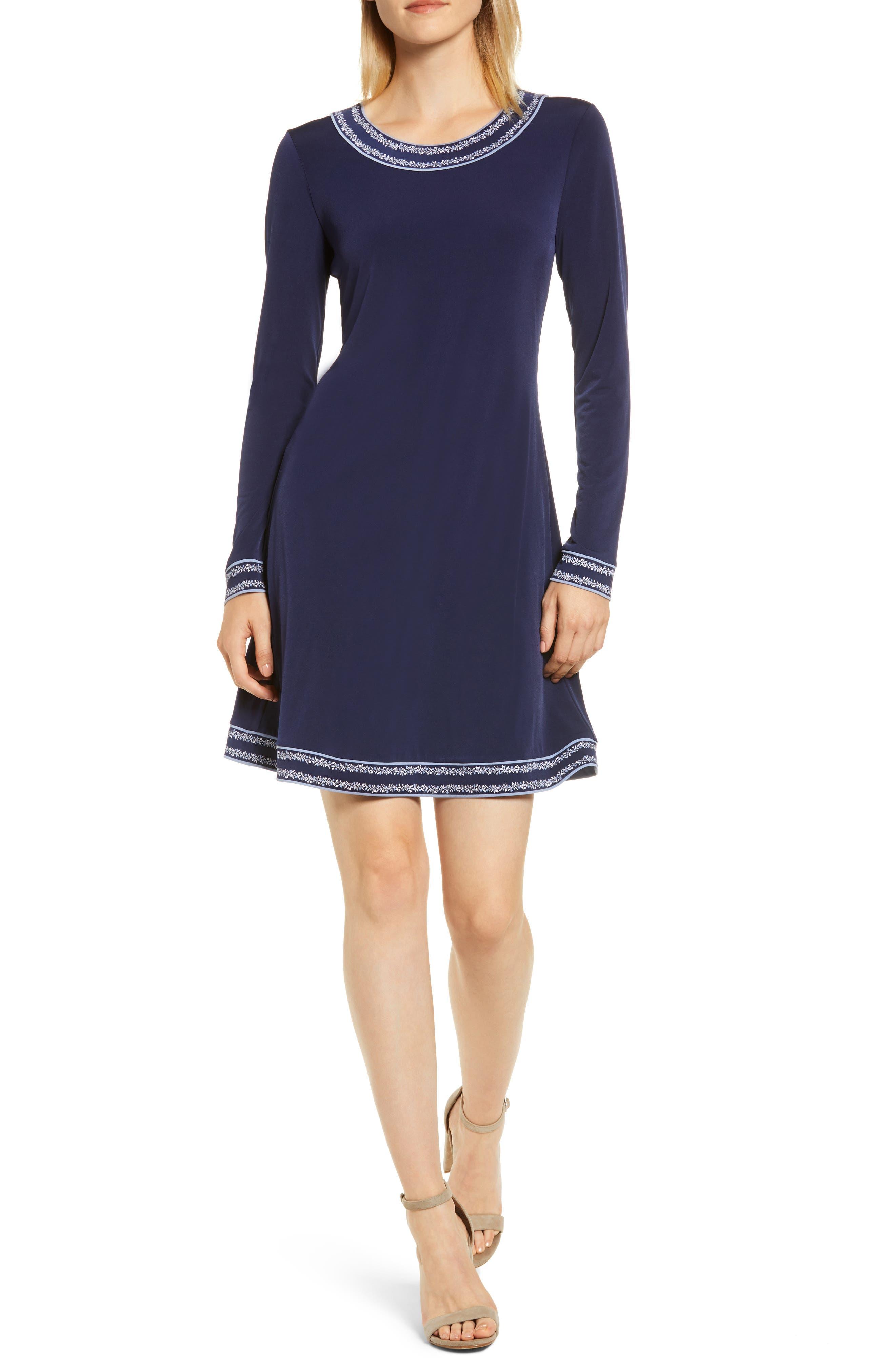 Michael Michael Kors Prairie Border A-Line Dress