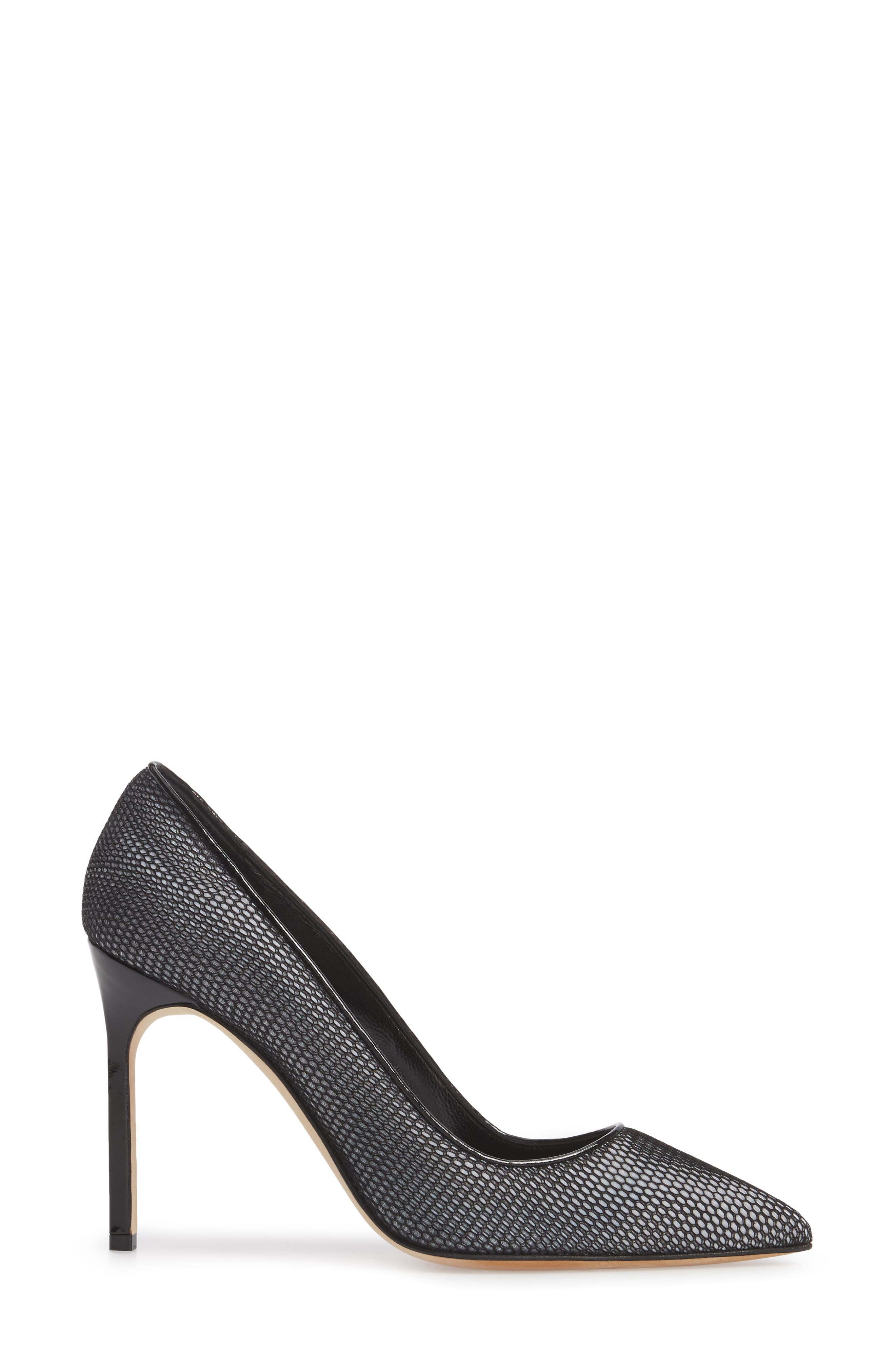 BB Pointy Toe Pump,                             Alternate thumbnail 3, color,                             020