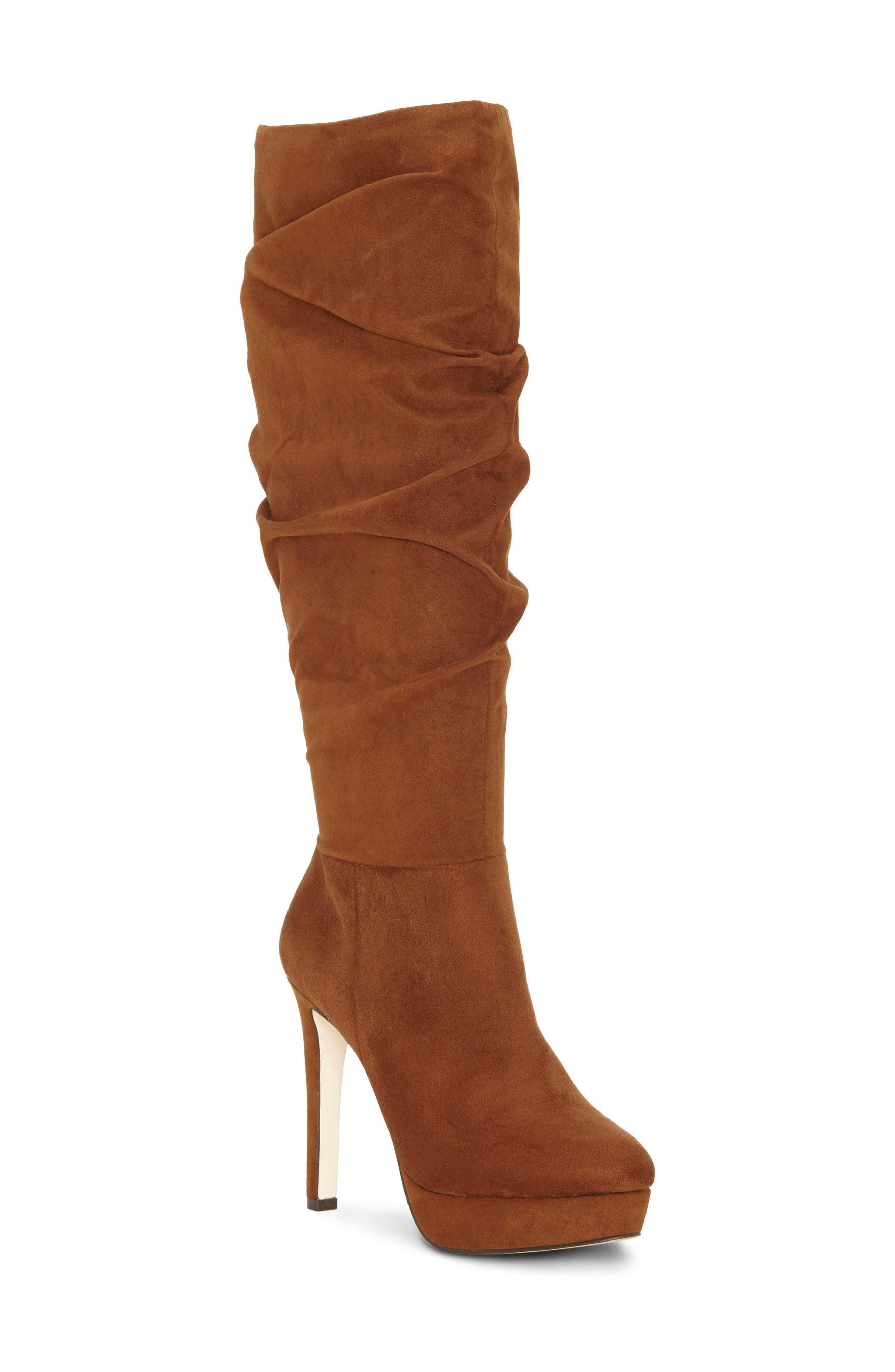Jessica Simpson Rhysa Knee High Boot- Brown