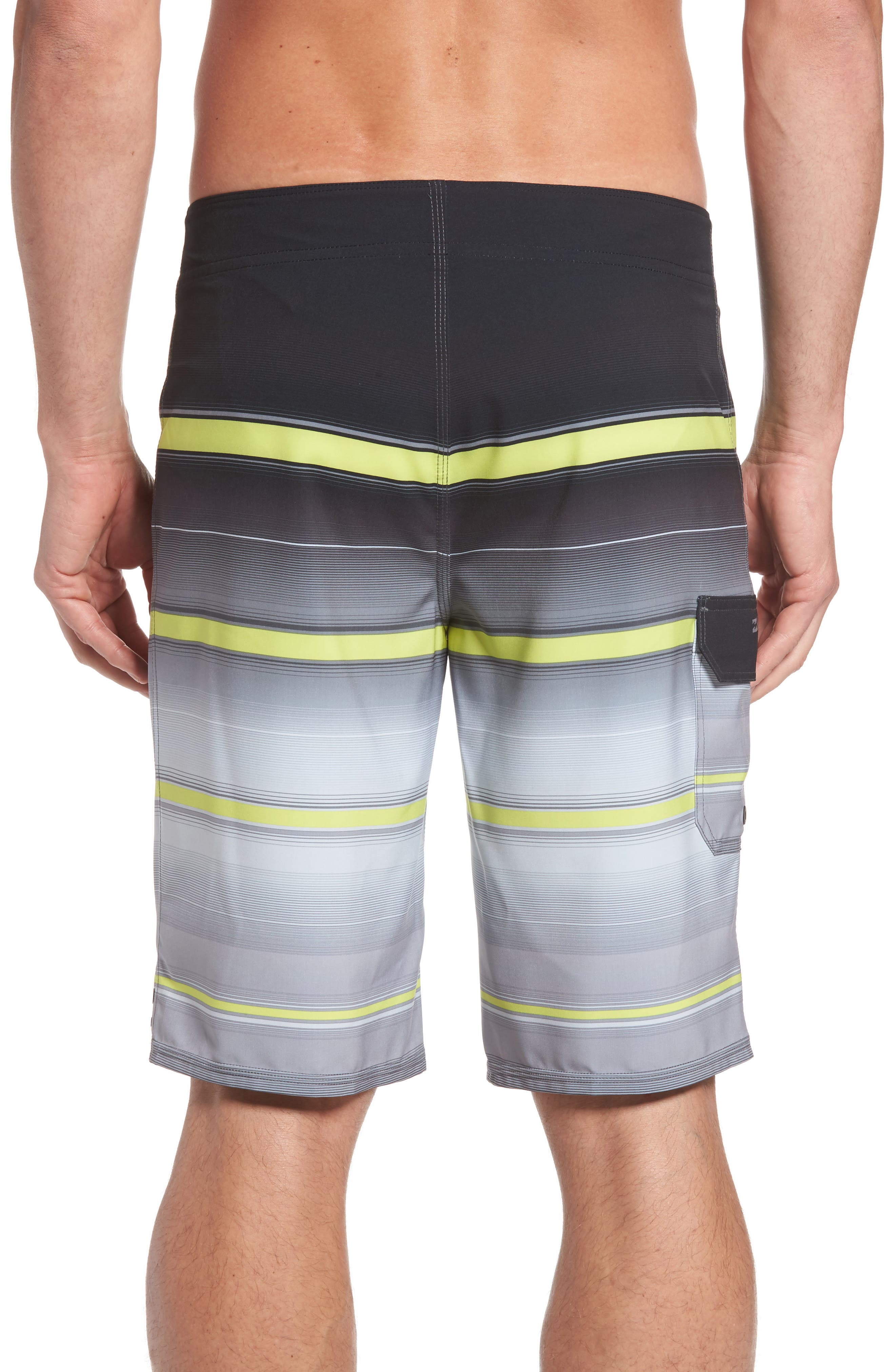 All Day X Stripe Board Shorts,                             Alternate thumbnail 7, color,