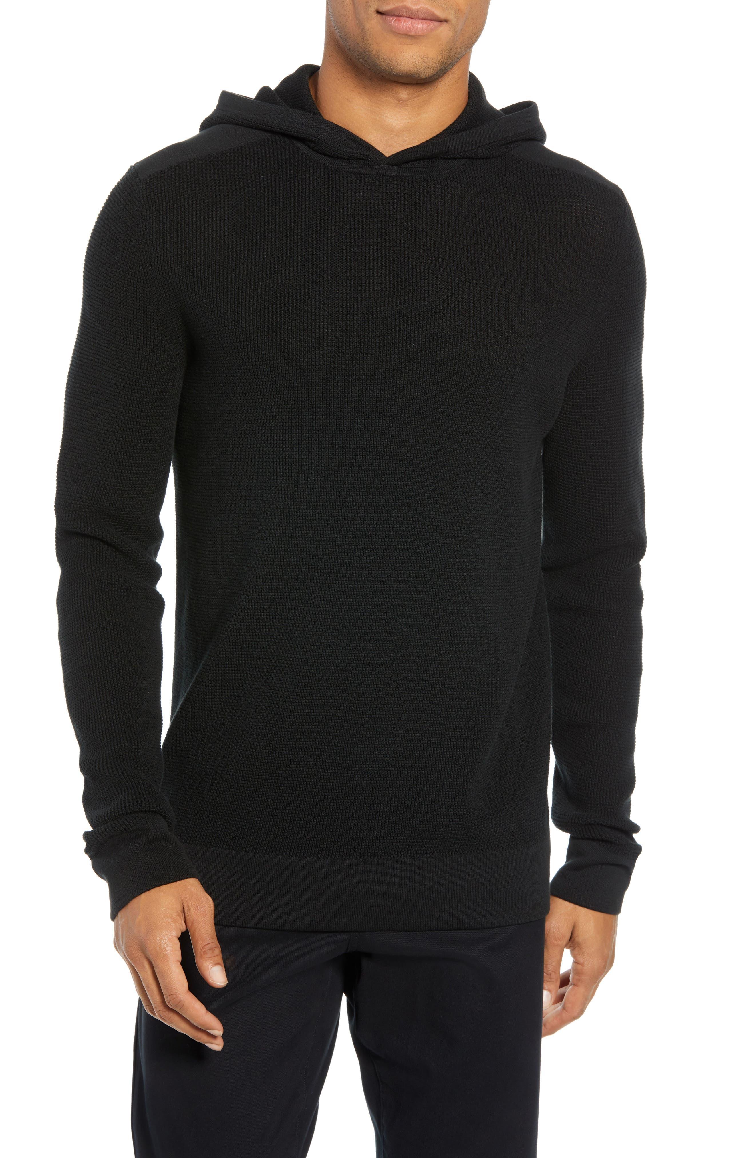 Dami Regular Fit Pullover Hoodie,                         Main,                         color, 001