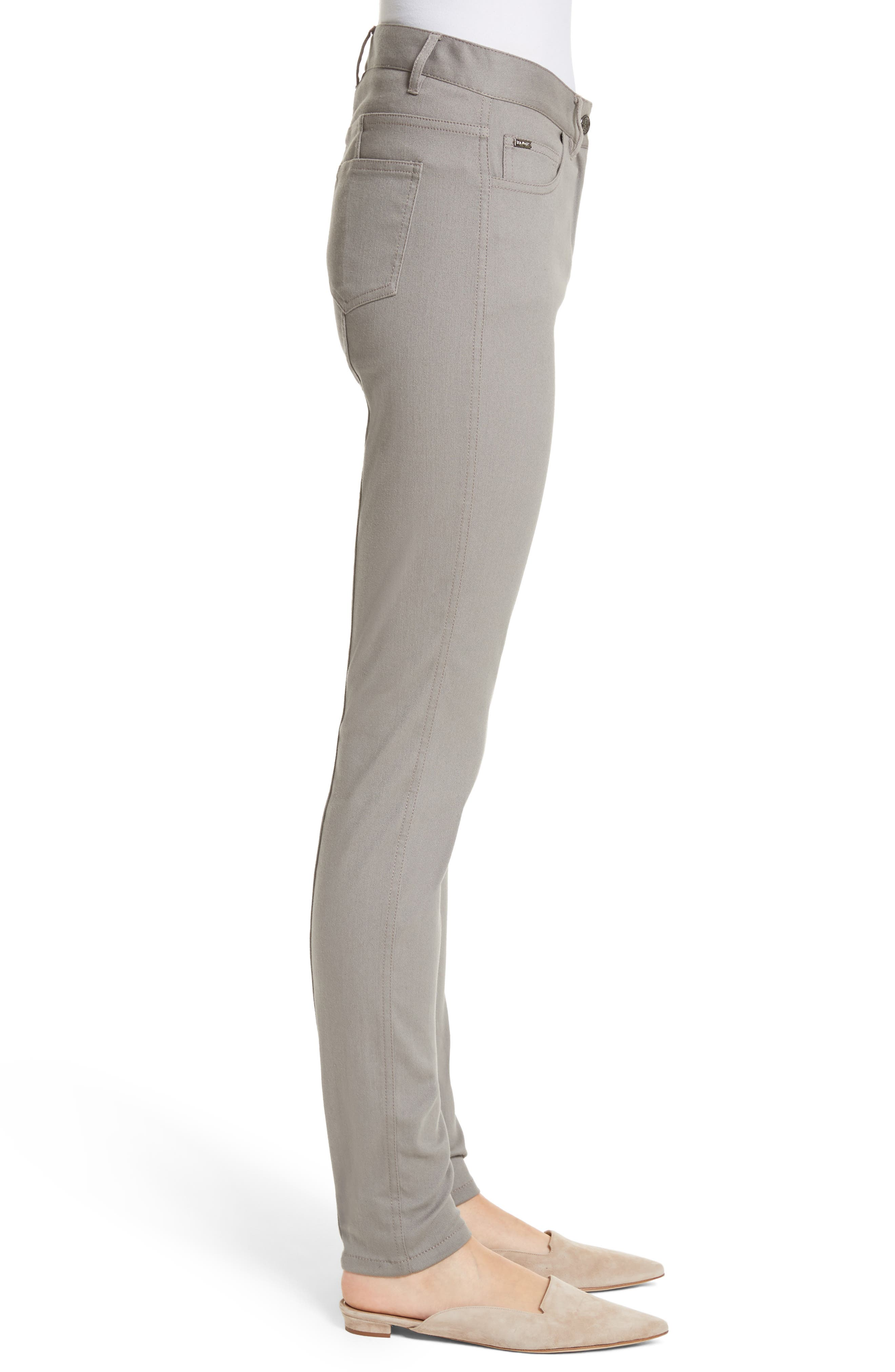 Bardot Double Dye Stretch Jeans,                             Alternate thumbnail 3, color,                             030