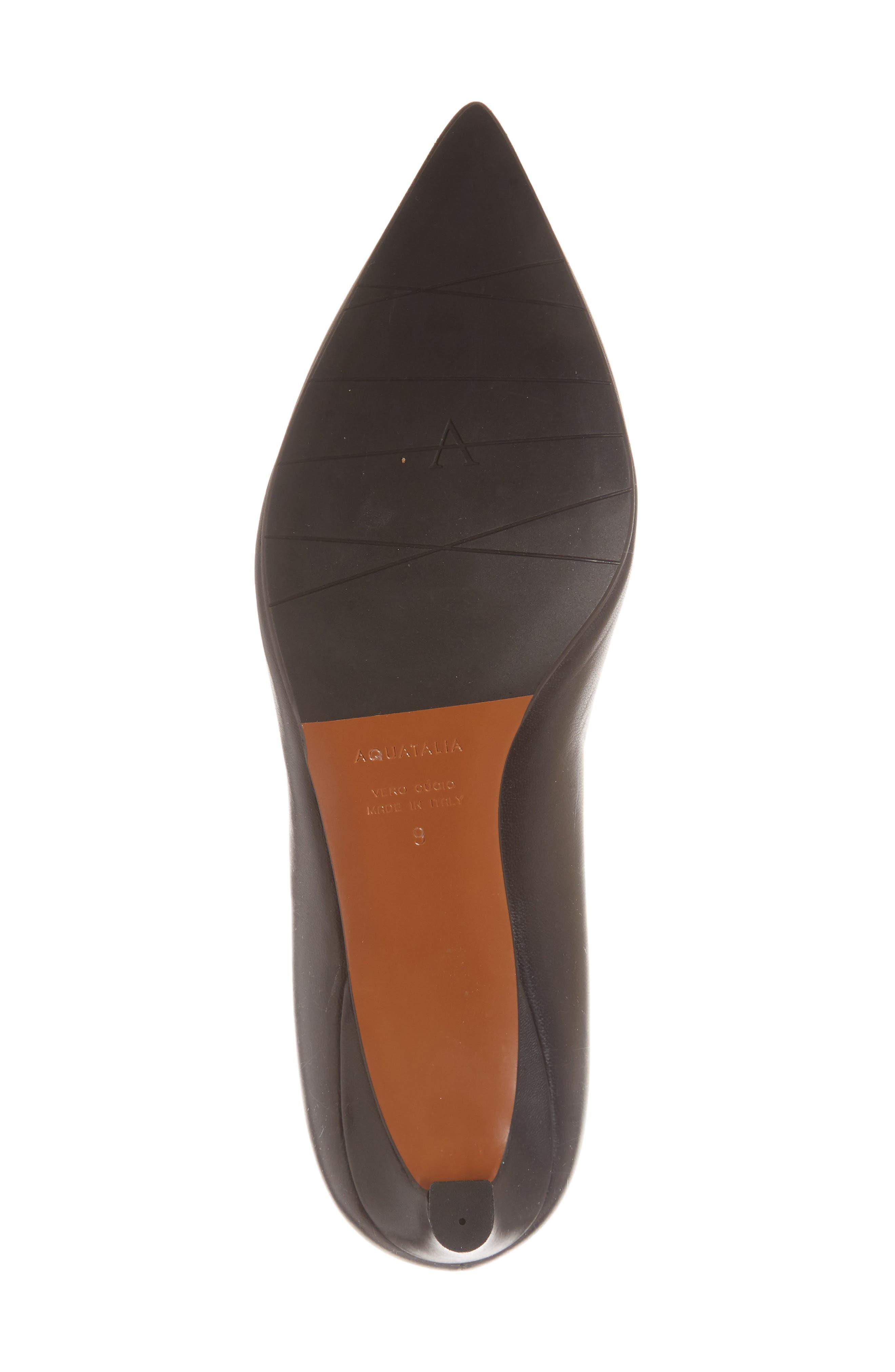 Marianna Kitten Heel Pump,                             Alternate thumbnail 6, color,                             BLACK