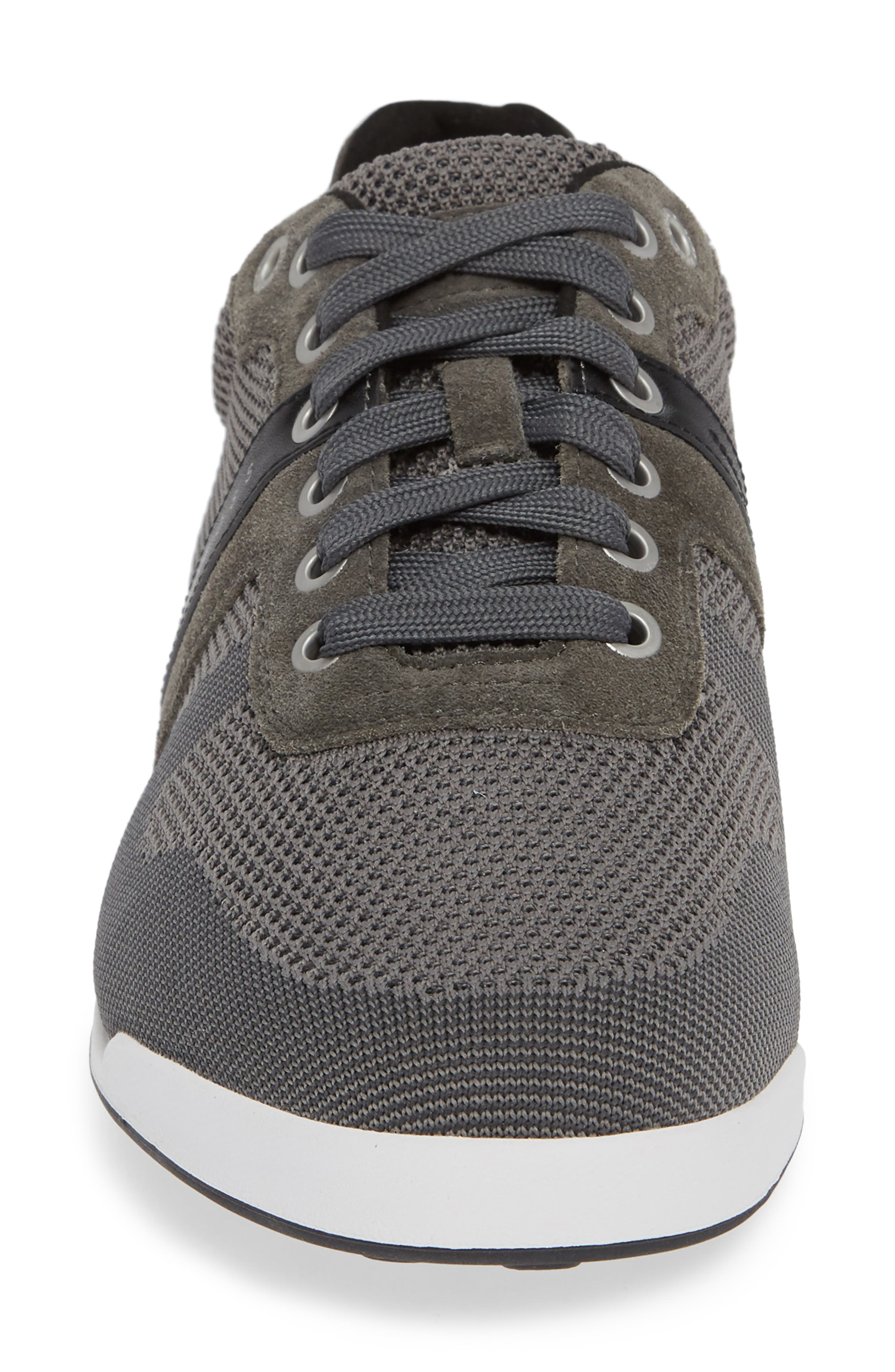 Hugo Boss Arkansas Lace-Up Sneaker,                             Alternate thumbnail 4, color,                             021