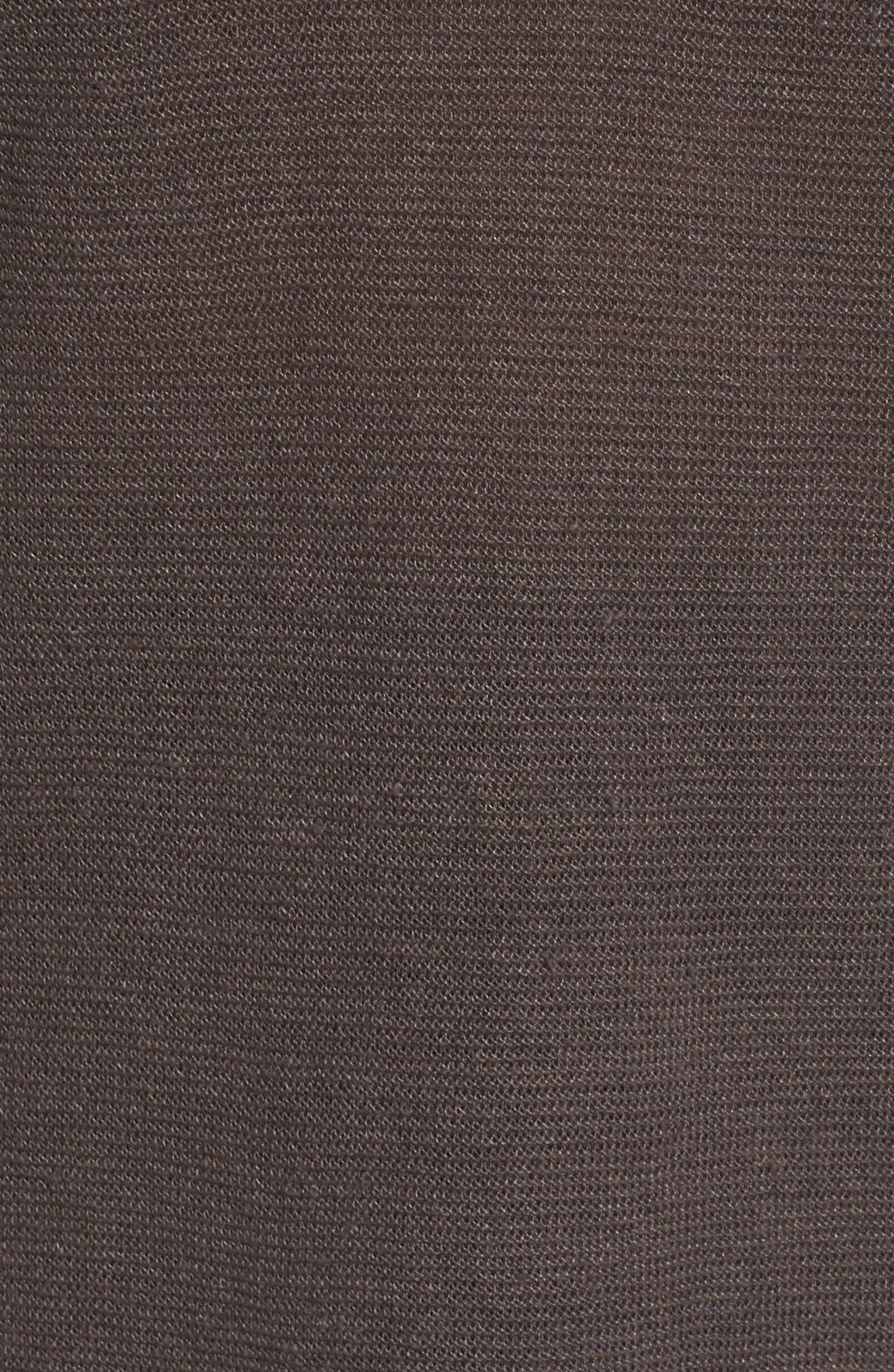 V-Neck Organic Linen Top,                             Alternate thumbnail 27, color,