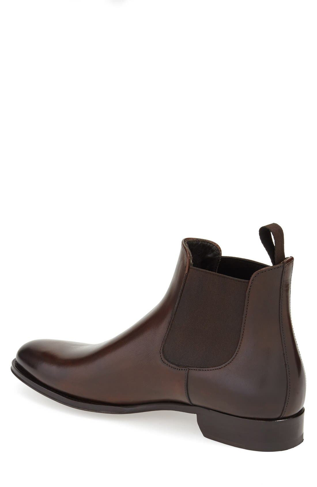 Toby Chelsea Boot,                             Alternate thumbnail 3, color,                             PRAGA TMORO