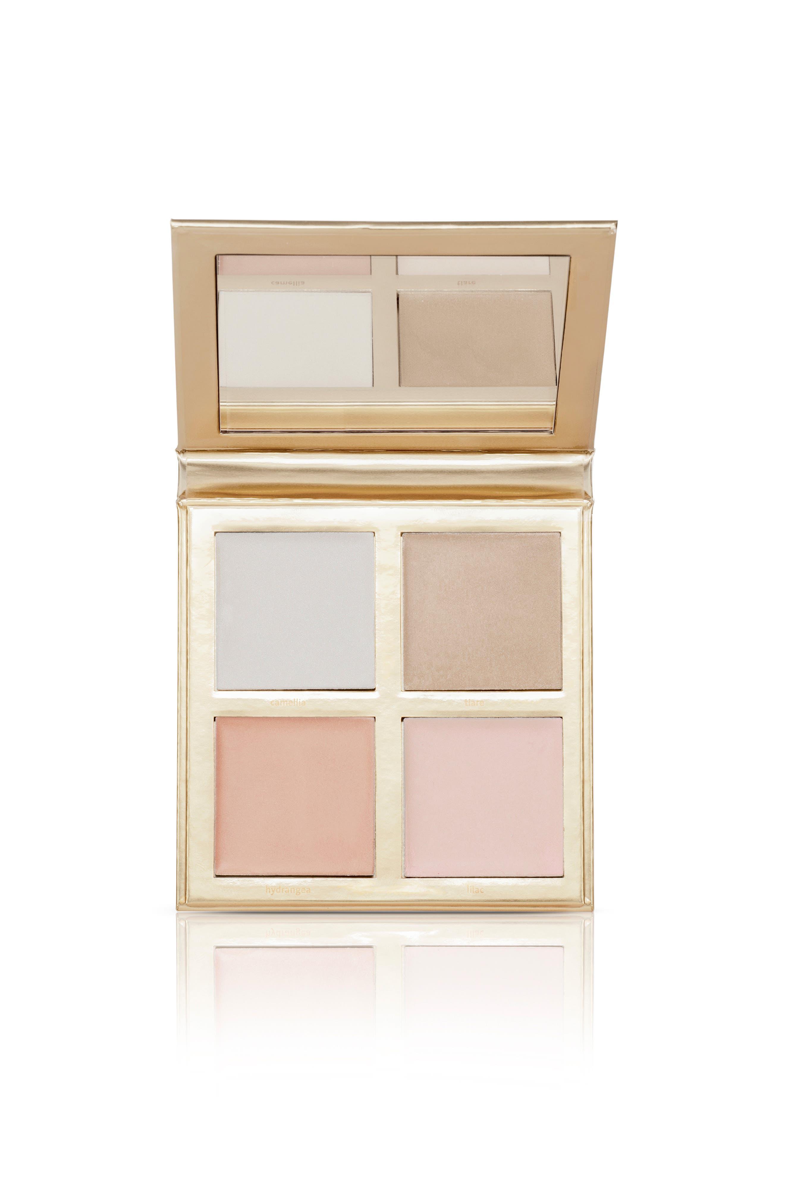 JOUER Lucky & Luminous Crème Highlighter Palette, Main, color, NO COLOR