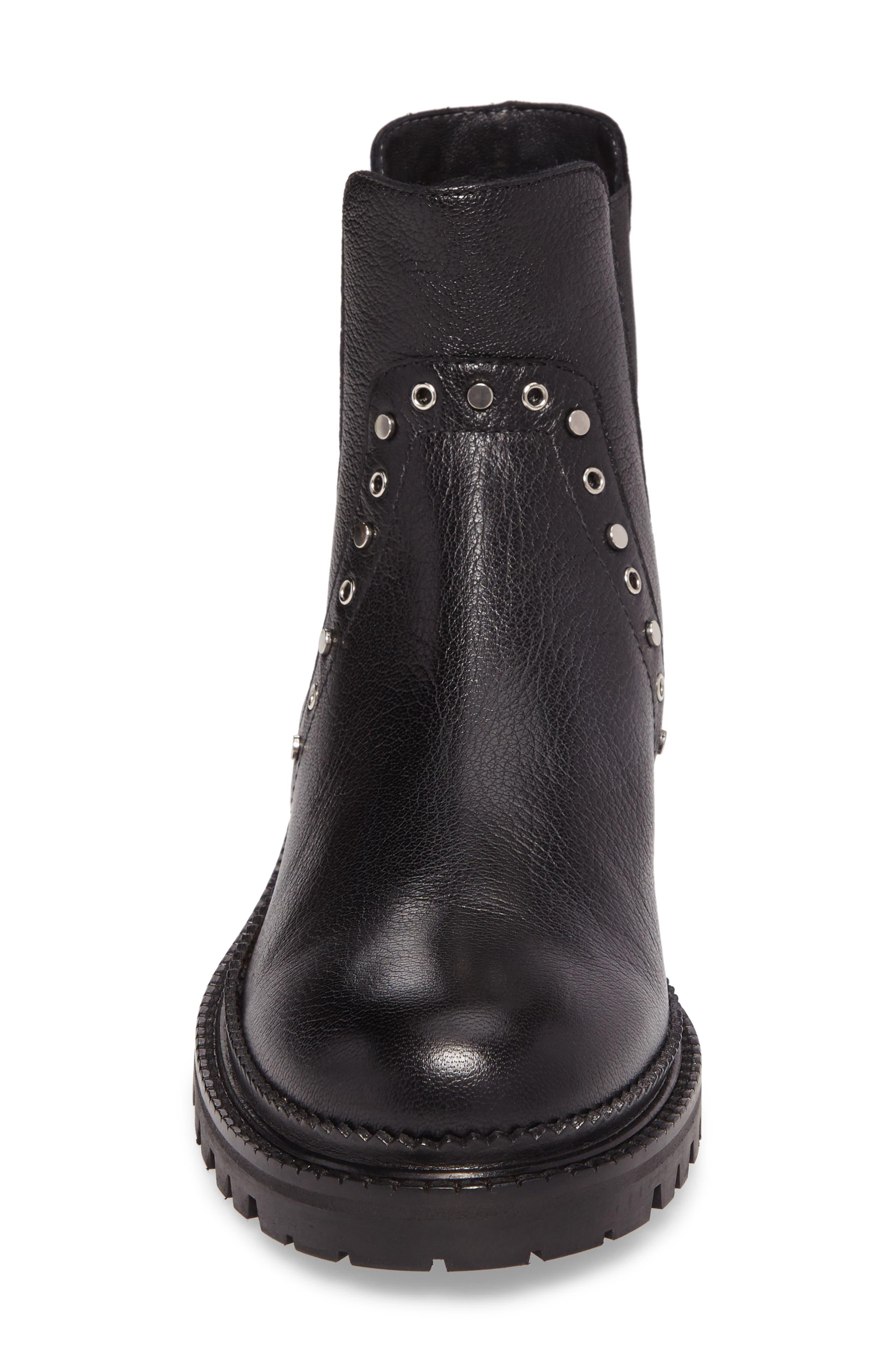 Burrow Chelsea Boot,                             Alternate thumbnail 4, color,                             001