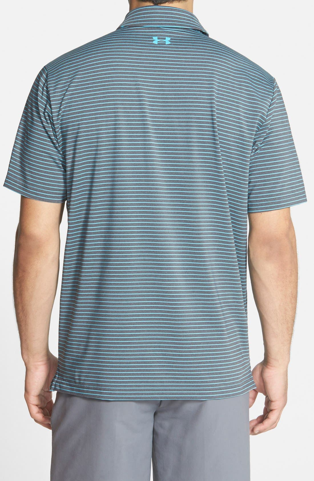 'Playoff' Loose Fit Short Sleeve Polo,                             Alternate thumbnail 73, color,