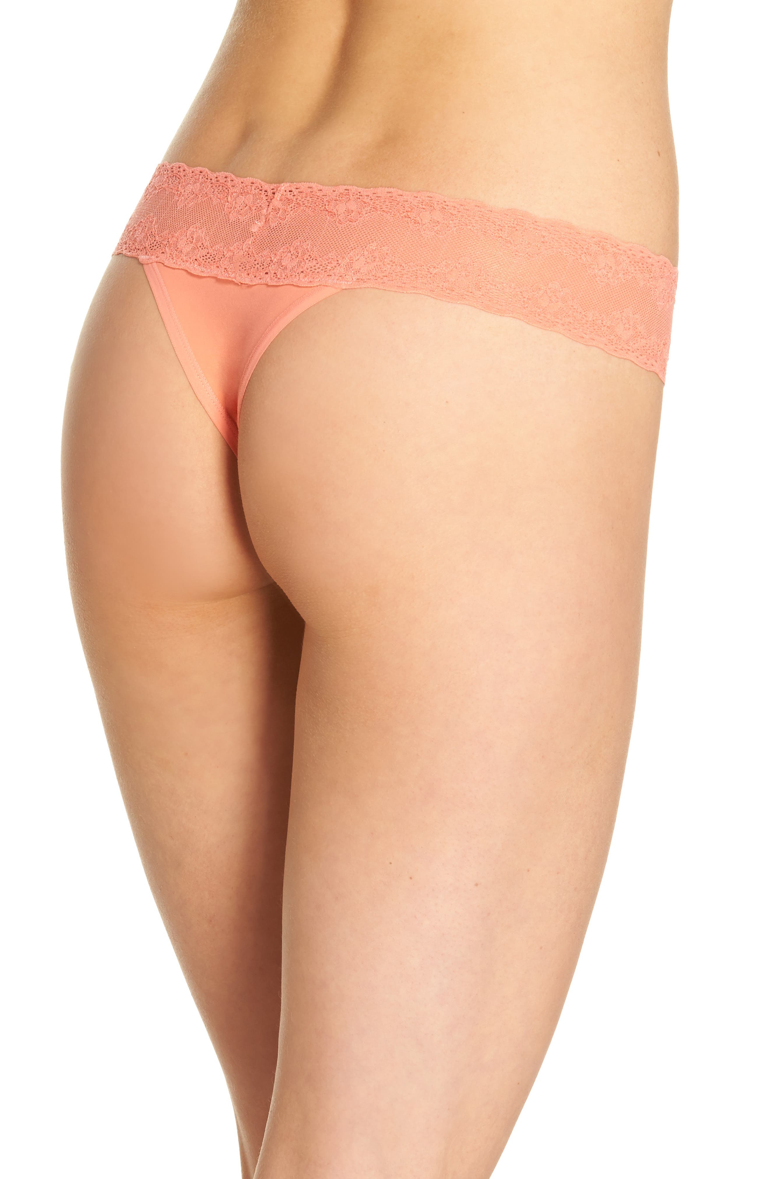 Bliss Perfection Thong,                             Alternate thumbnail 143, color,