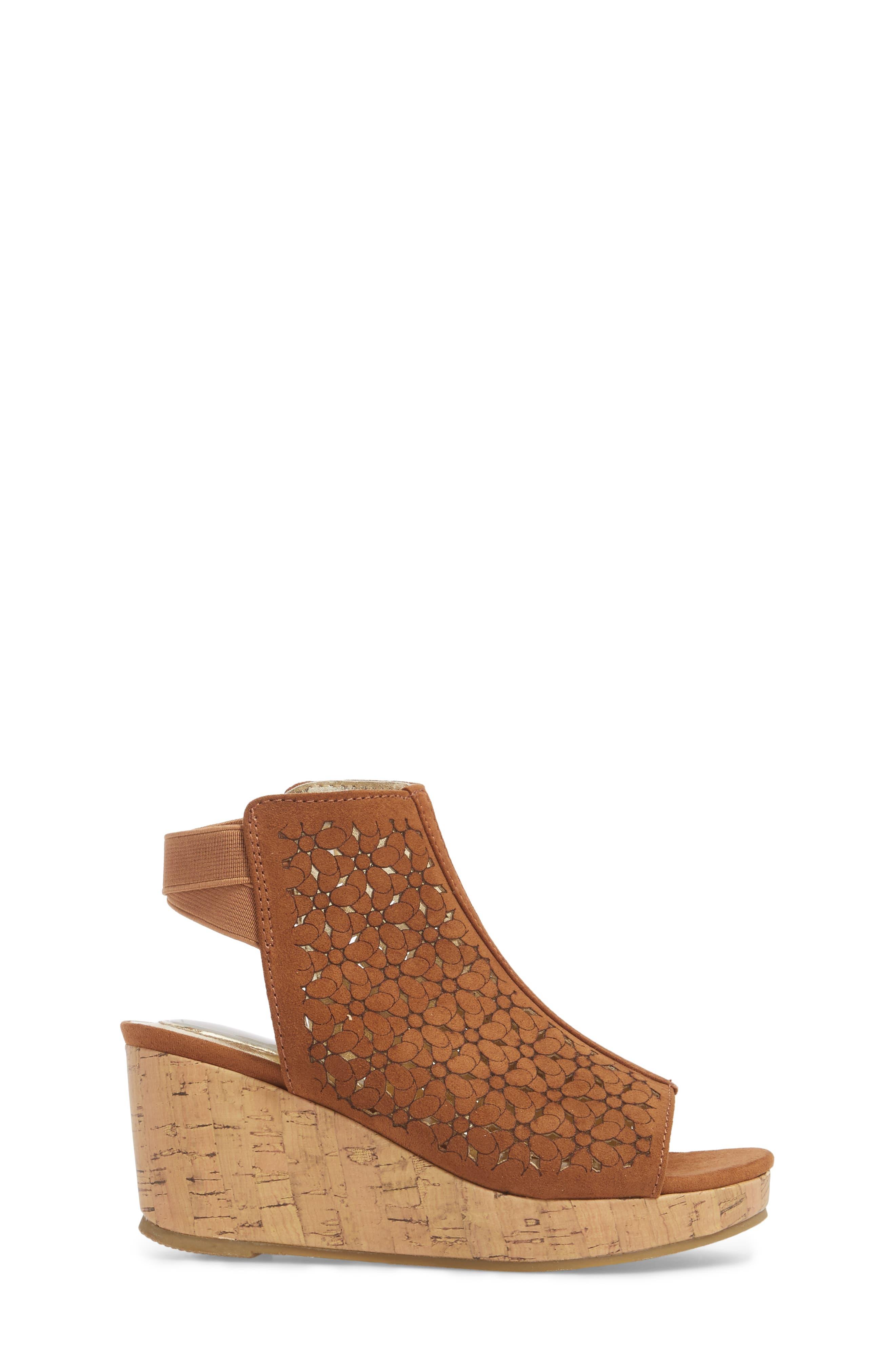 Corrine Finestra Wedge Sandal,                             Alternate thumbnail 3, color,                             255