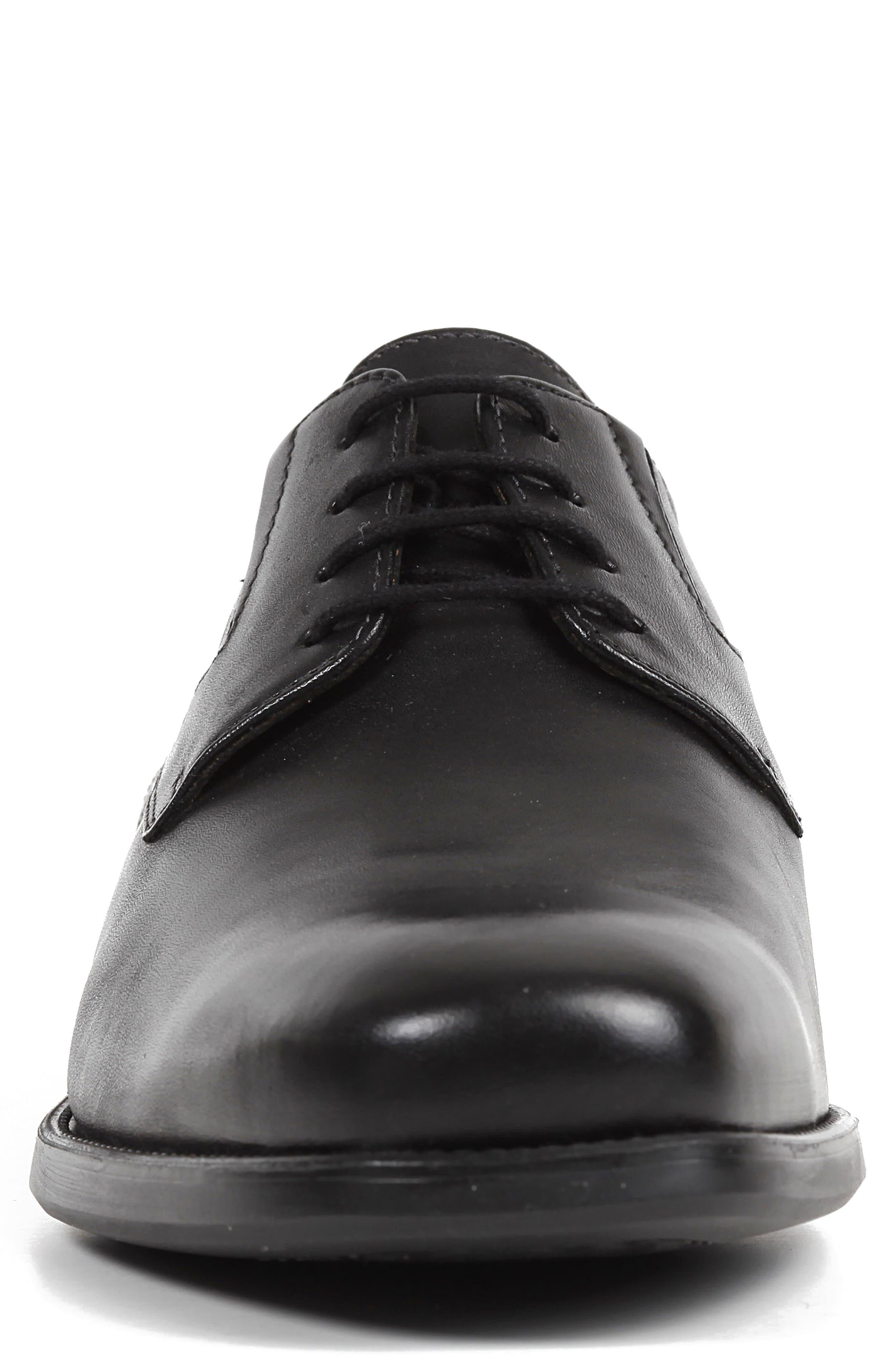 Federico 8 Plain Toe Derby,                             Alternate thumbnail 4, color,                             001