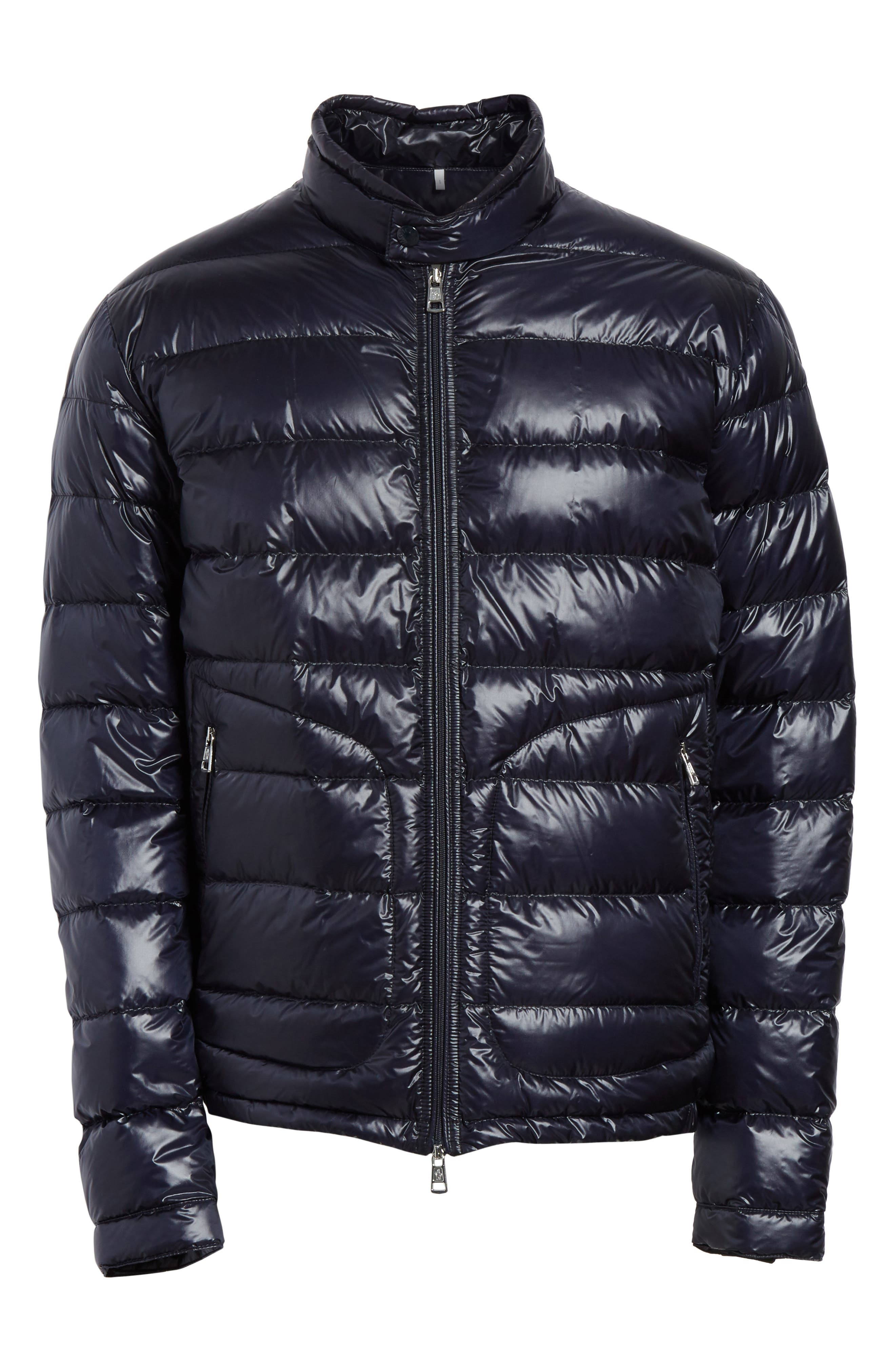 Acorus Down Quilted Jacket,                             Alternate thumbnail 5, color,                             BLUE