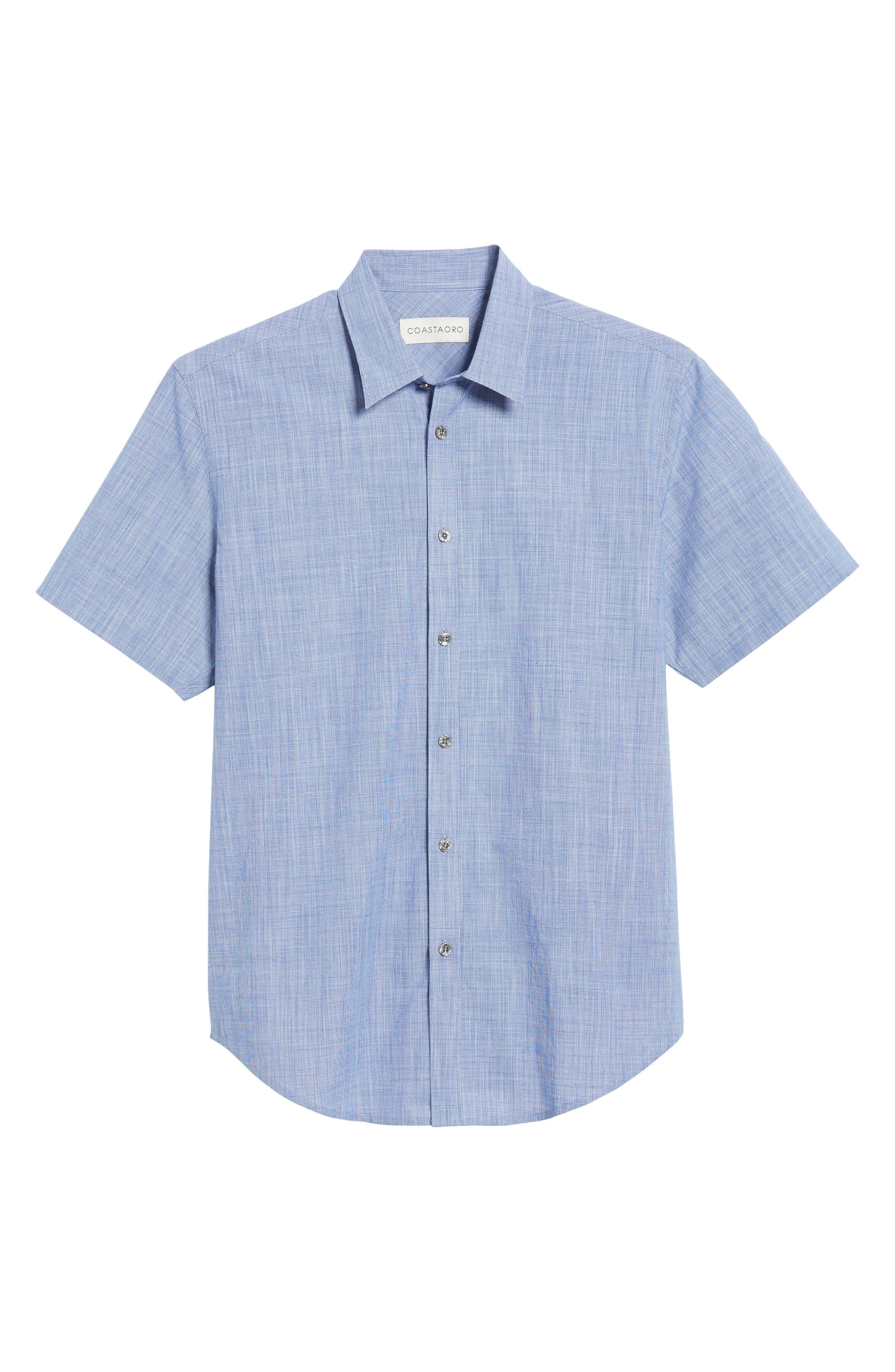 Savas Regular Fit Sport Shirt,                             Alternate thumbnail 6, color,                             422