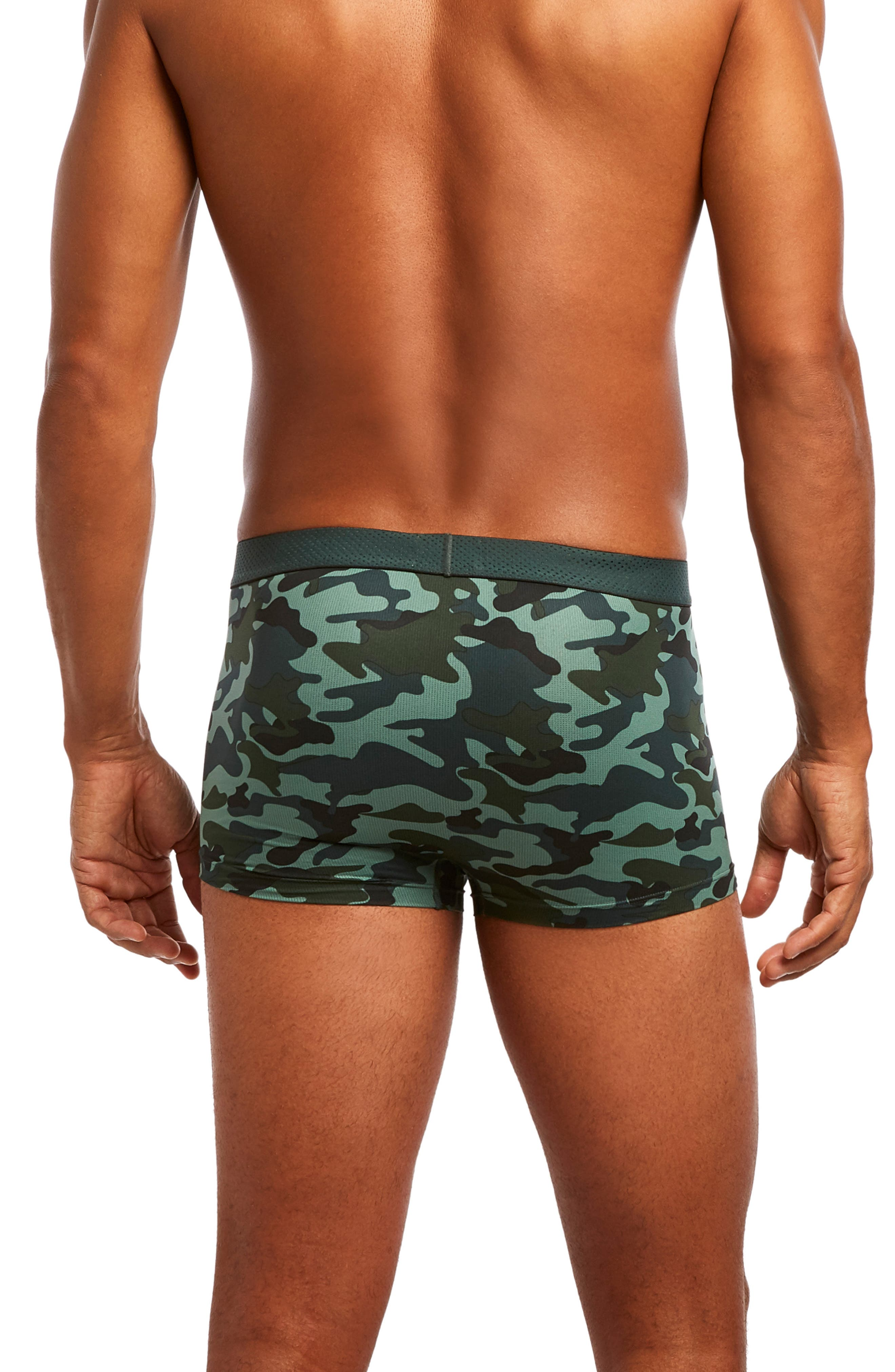 Speed Dri Trunks,                             Alternate thumbnail 2, color,                             CAMO/ GREEN GABLES