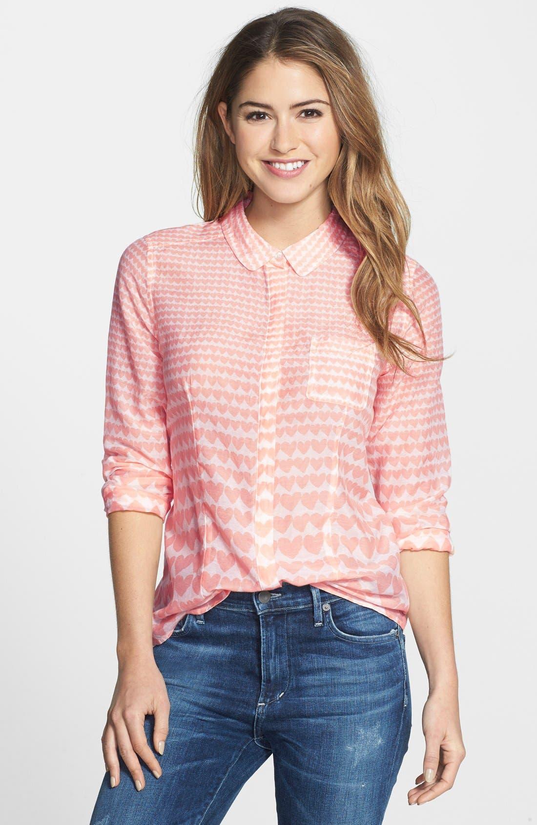 Cotton & Silk Shirt,                             Main thumbnail 38, color,