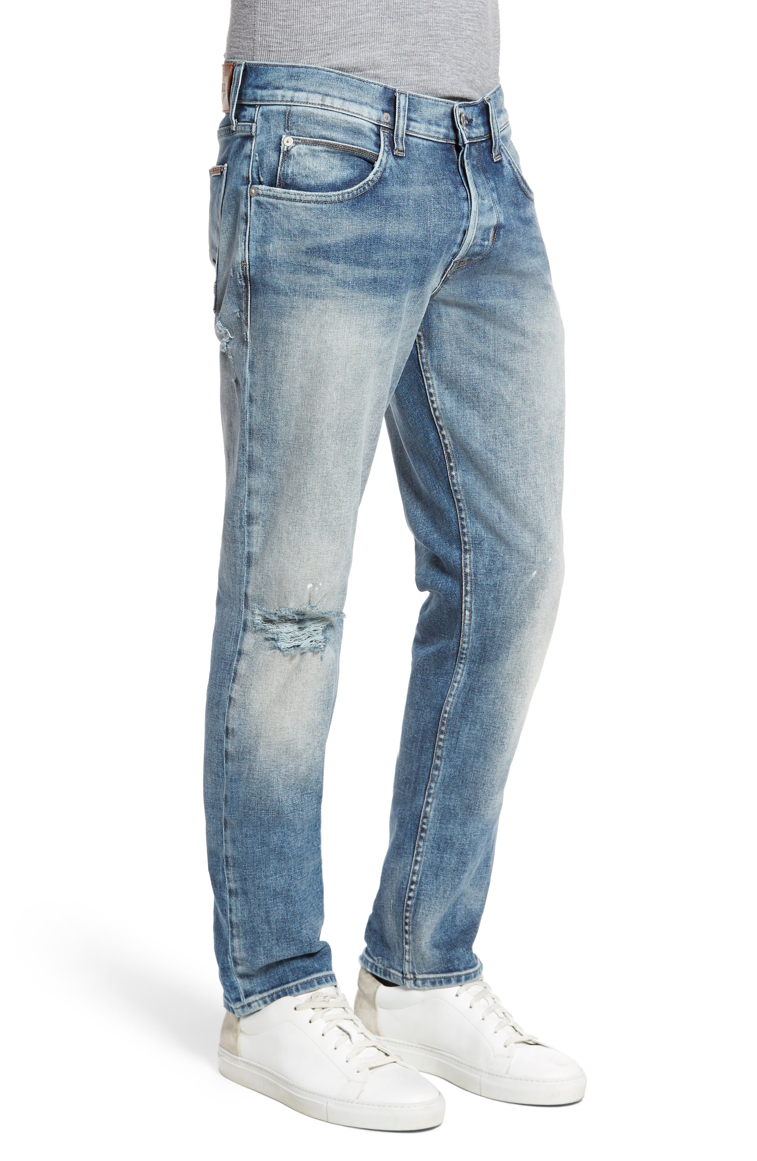 Blake Slim Fit Jeans,                             Alternate thumbnail 3, color,                             451