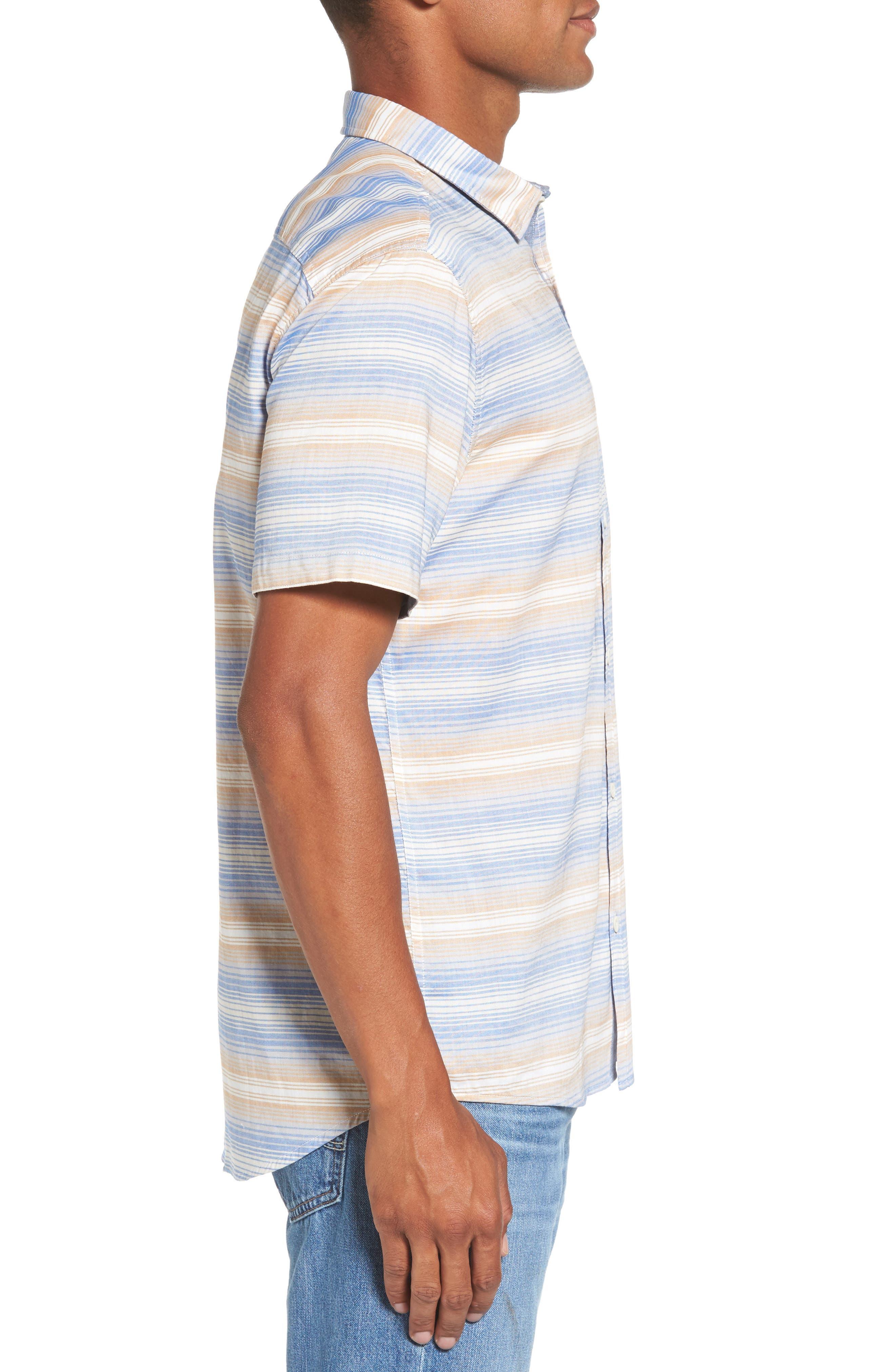 Aventail Stripe Shirt,                             Alternate thumbnail 6, color,