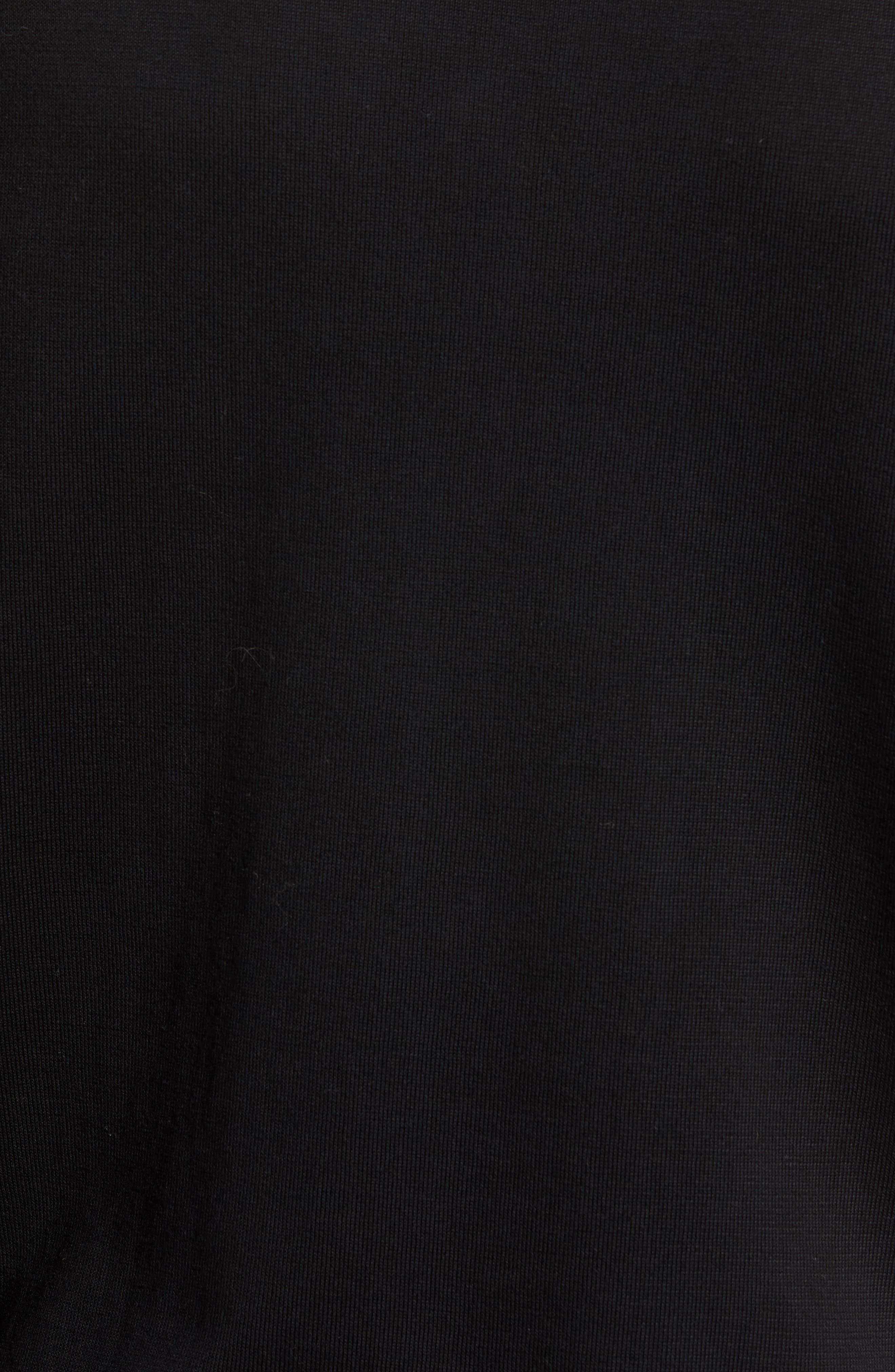 Long Sleeve Pocket T-Shirt,                             Alternate thumbnail 5, color,                             001