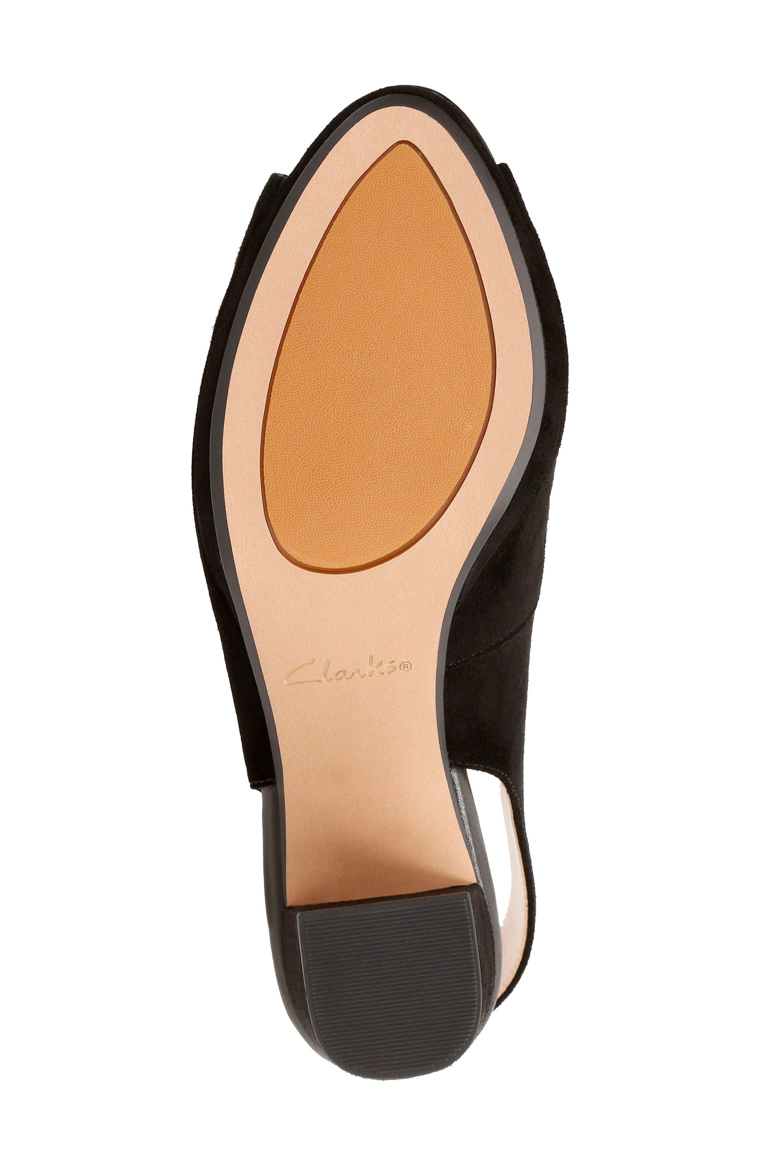 Kelda Slingback Sandal,                             Alternate thumbnail 4, color,                             007