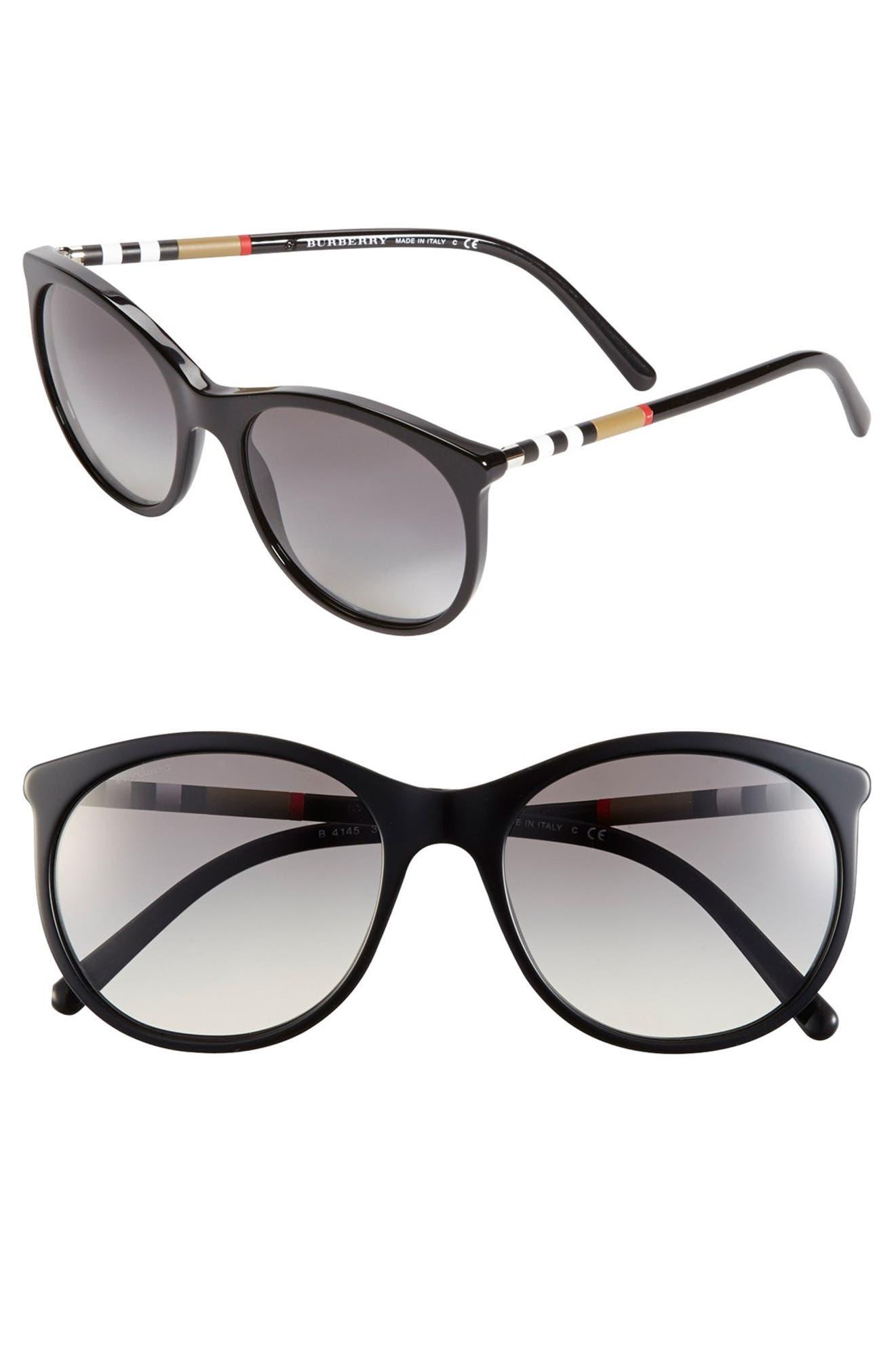 0a6f3c1dc5f Burberry 55mm Cat Eye Sunglasses