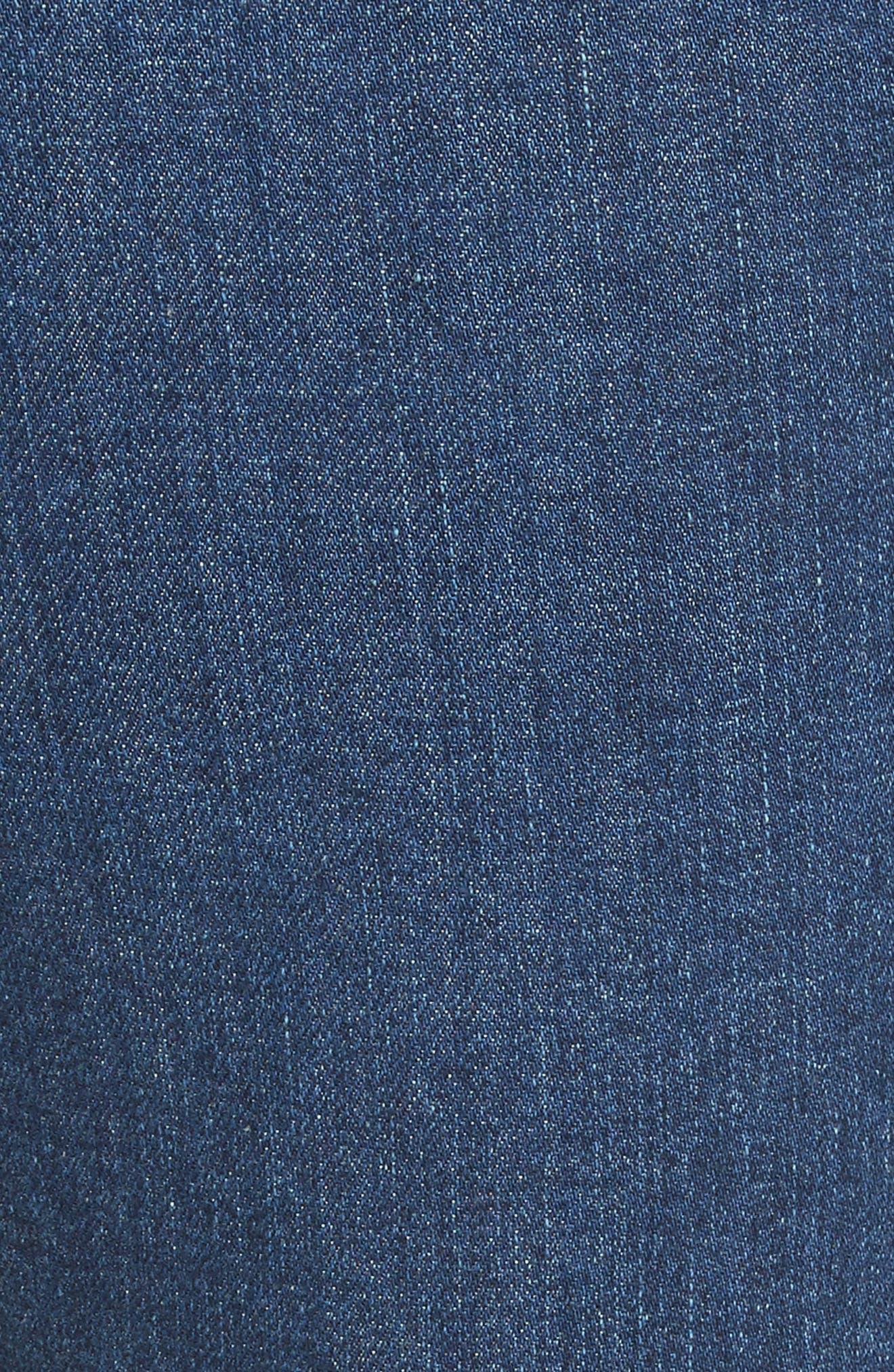 Ranata Tuxedo Cigarette Jeans,                             Alternate thumbnail 5, color,
