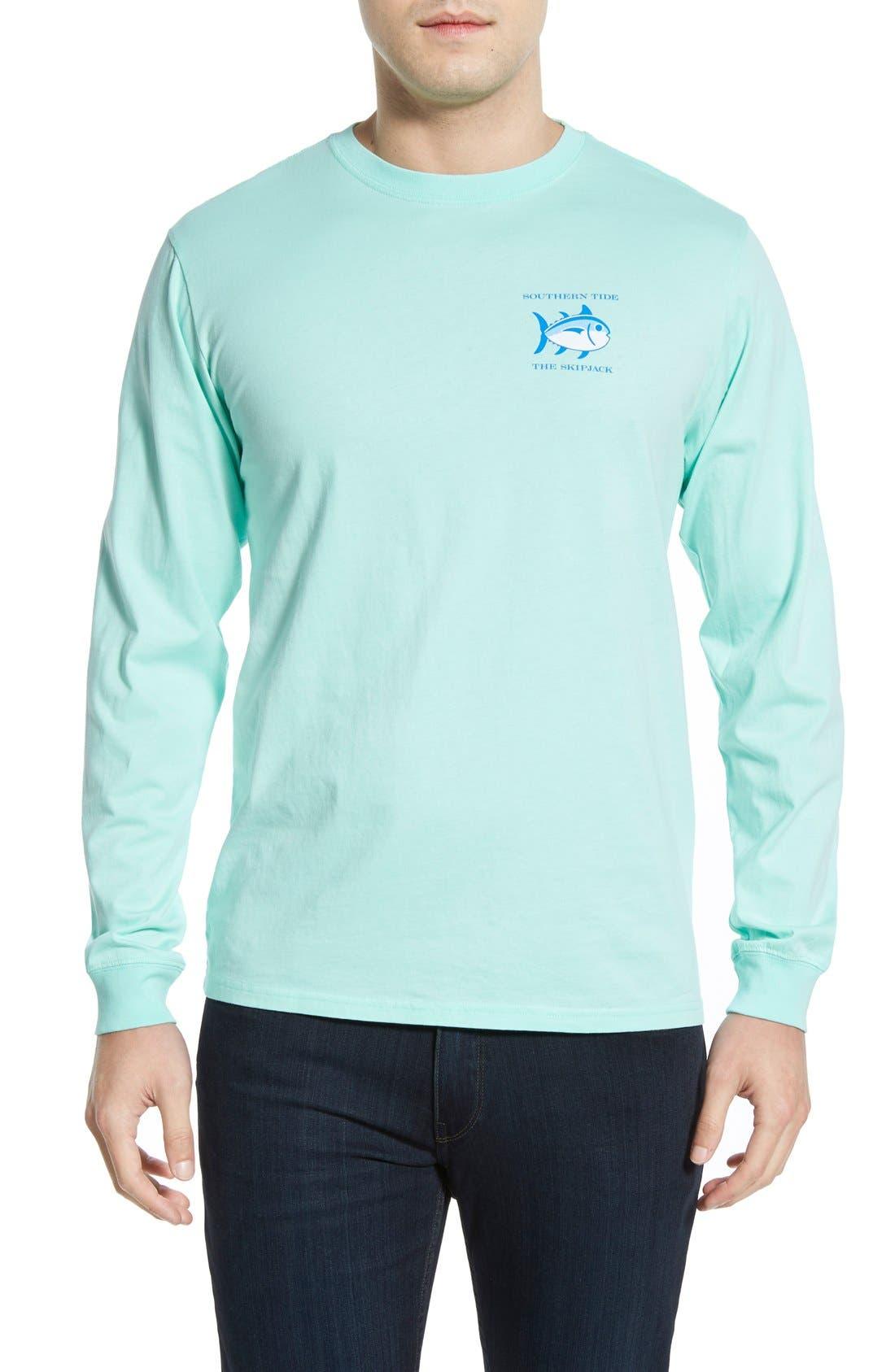 'Skipjack'Long Sleeve Graphic T-Shirt,                             Alternate thumbnail 49, color,