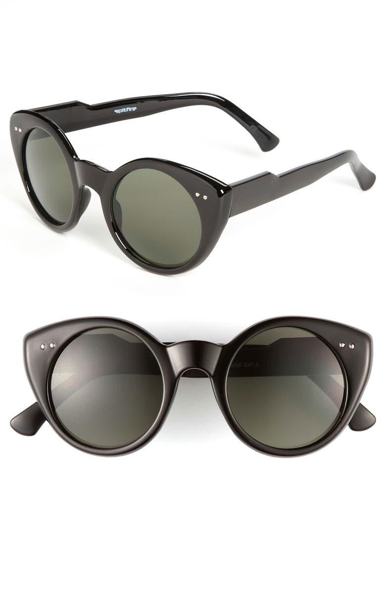 Spitfire Sunglasses Cyber - Silver/Black