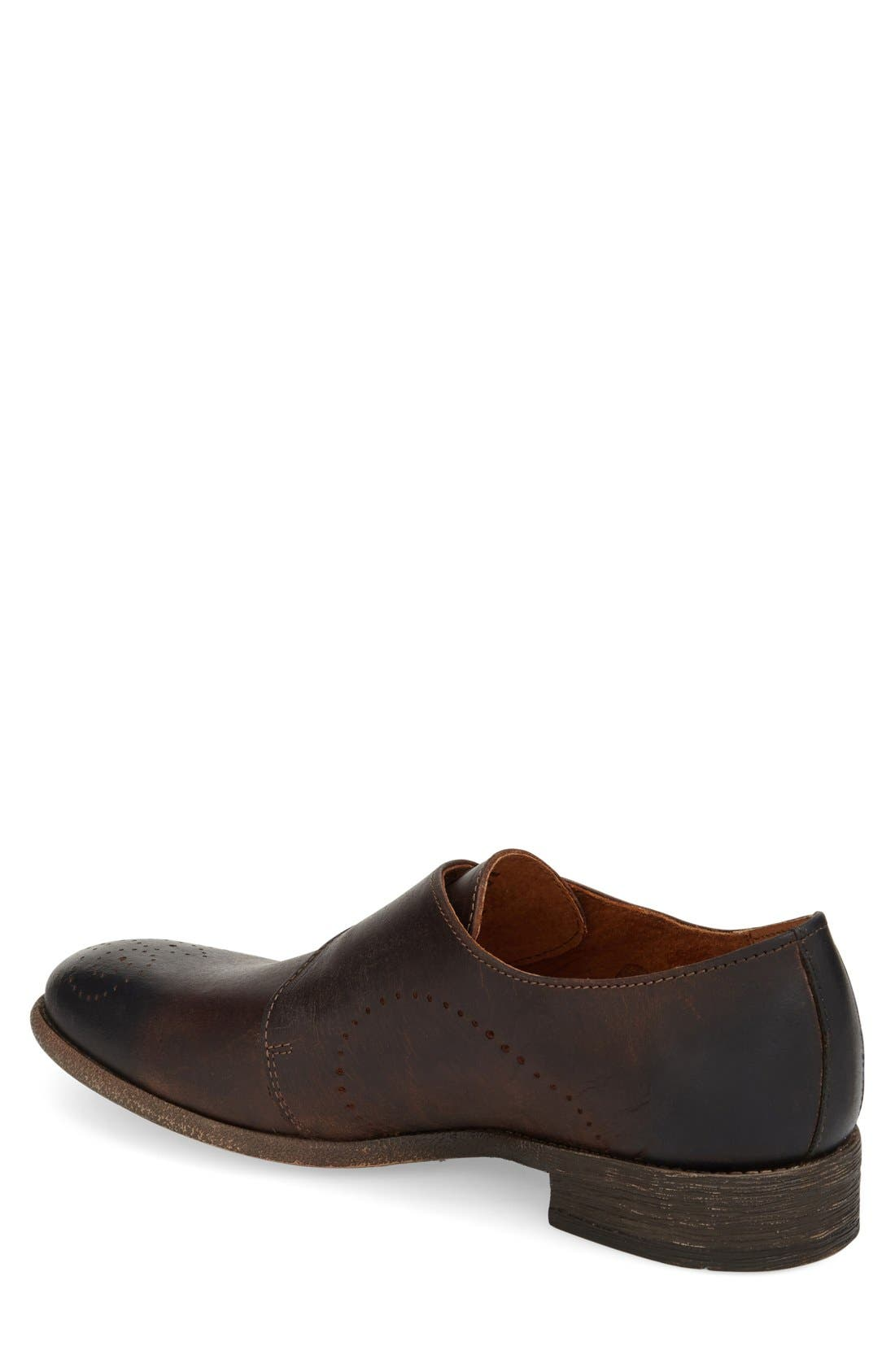 'Montana' Monk Strap Shoe,                             Alternate thumbnail 2, color,                             201