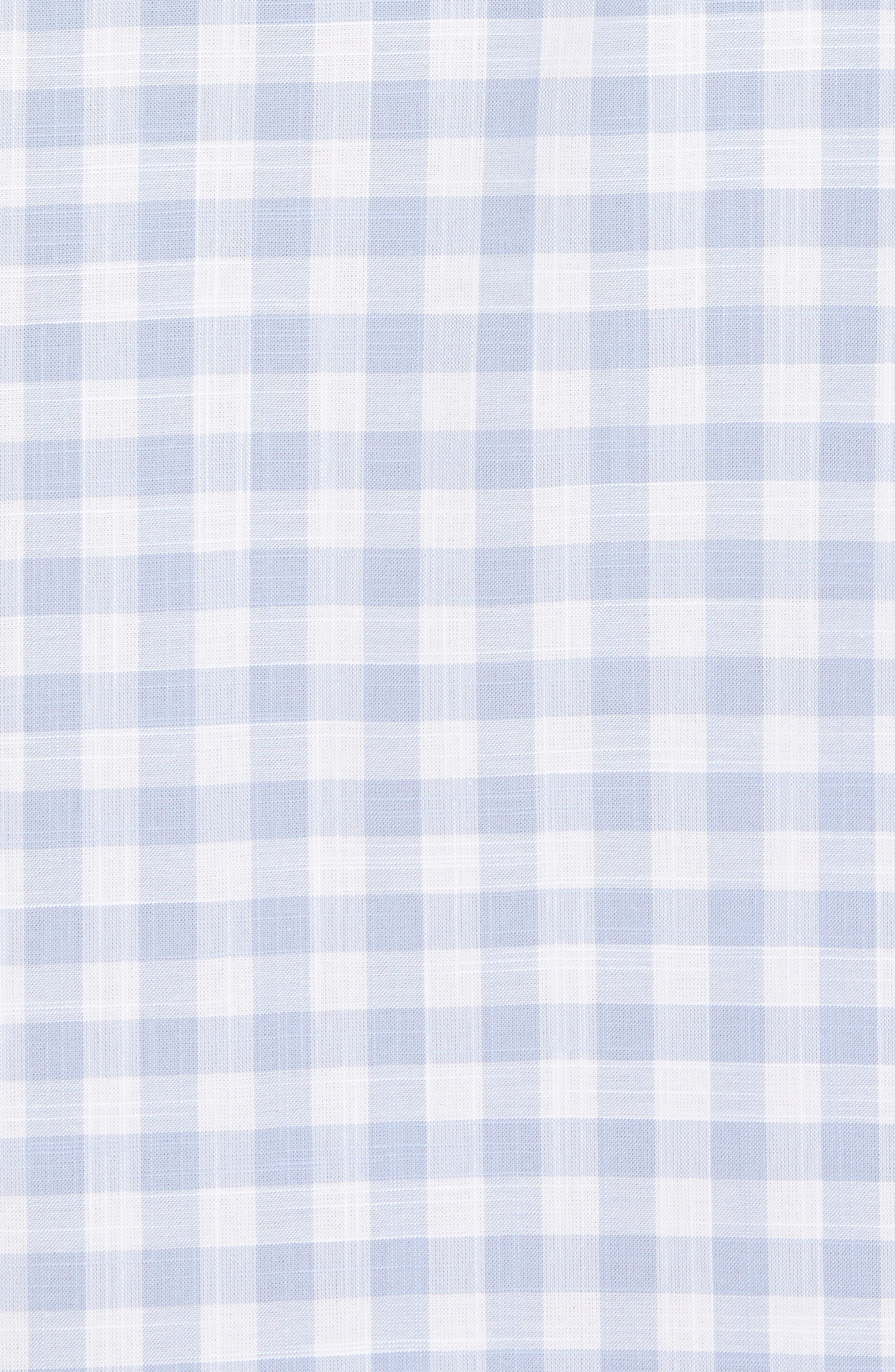 Eitenne Regular Fit Check Sport Shirt,                             Alternate thumbnail 5, color,                             450