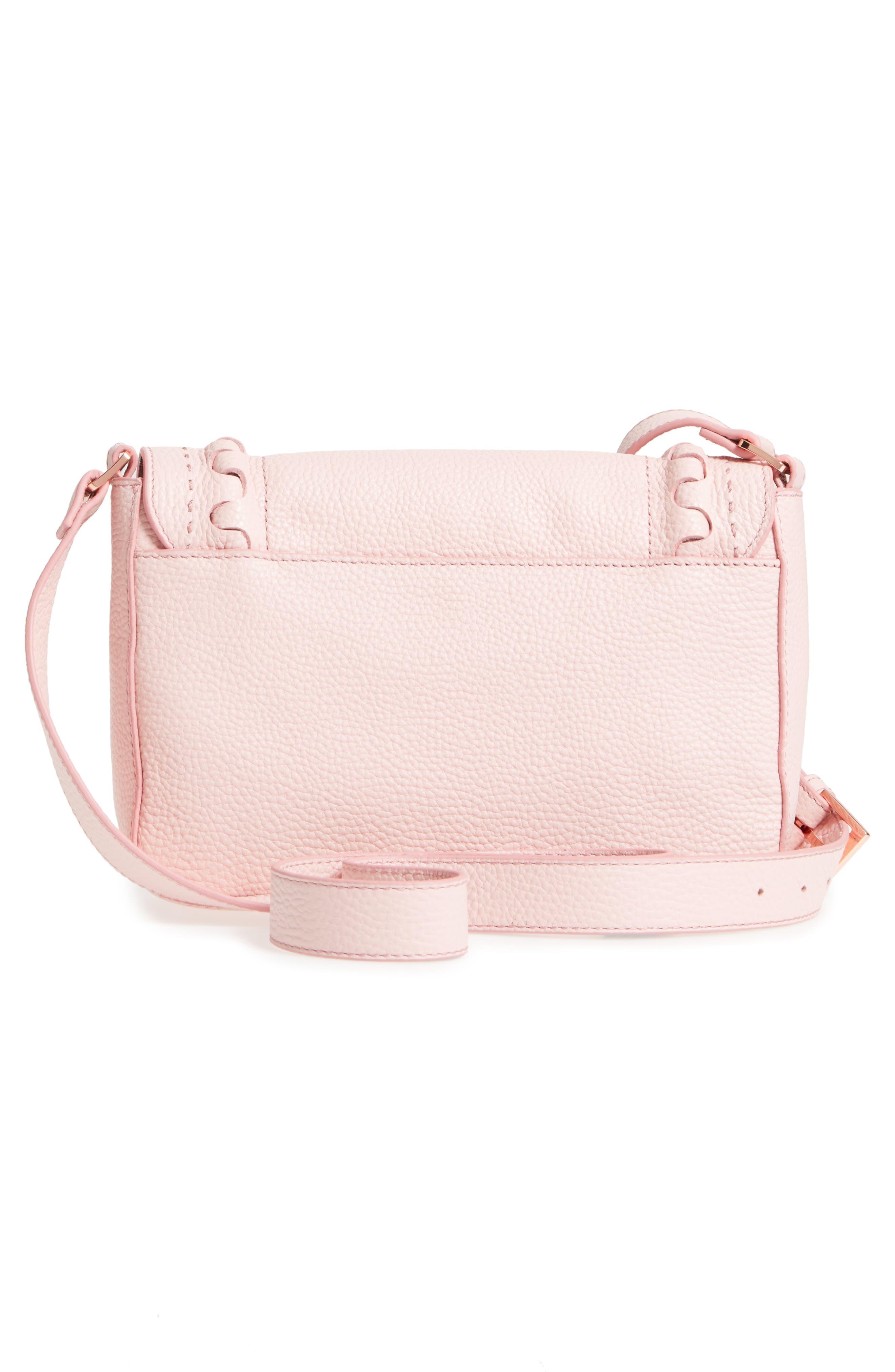 Tippi Leather Crossbody Bag,                             Alternate thumbnail 9, color,